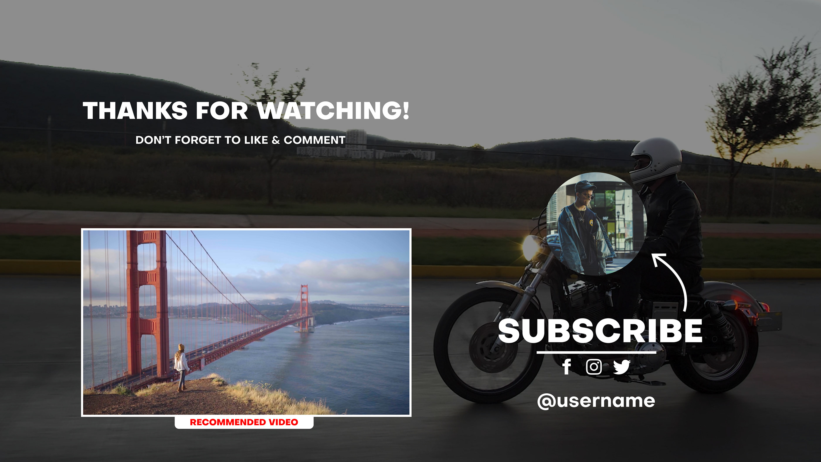 YouTube End Screens - 3