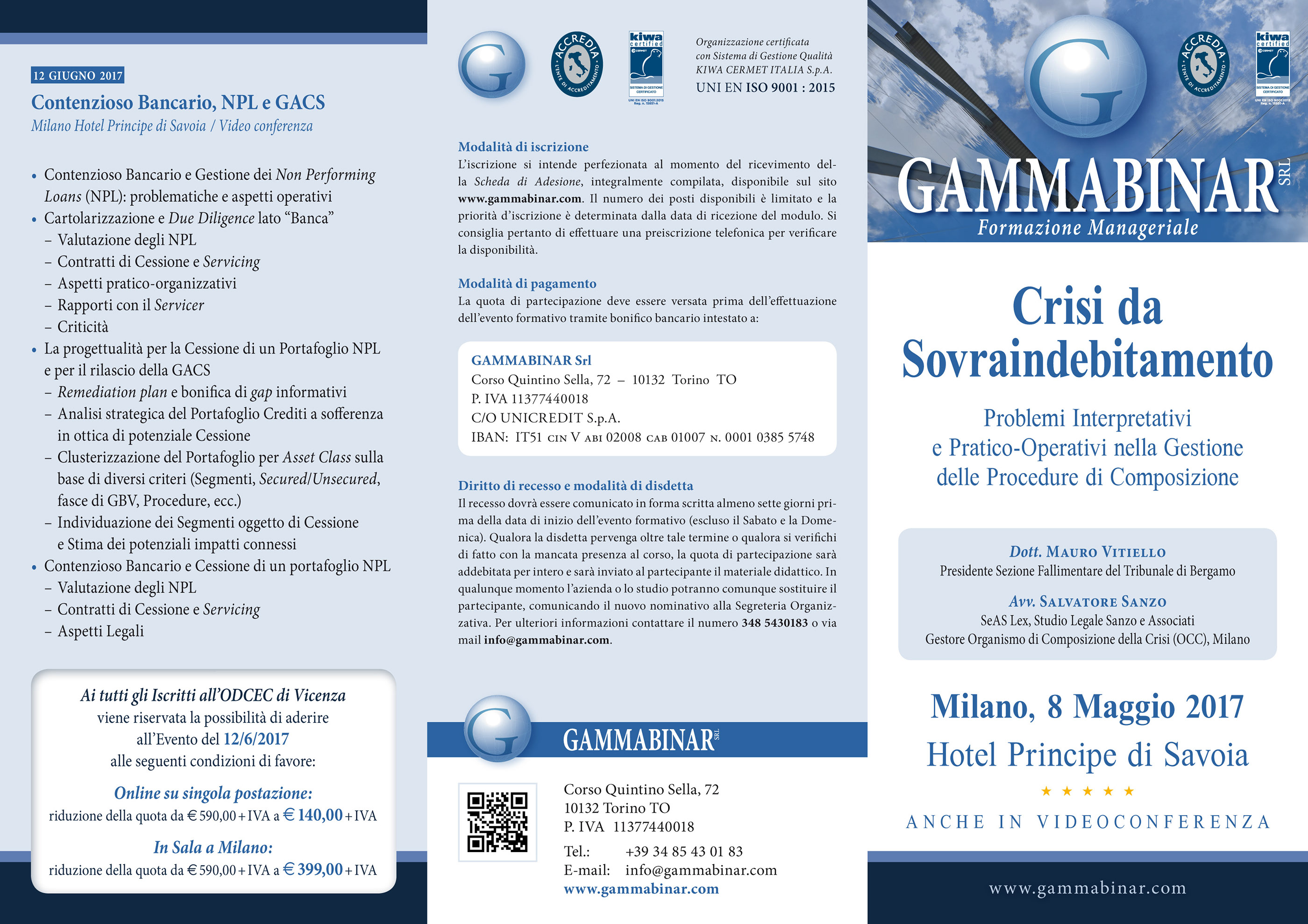Studio La Sala Milano folded leaflets on behance