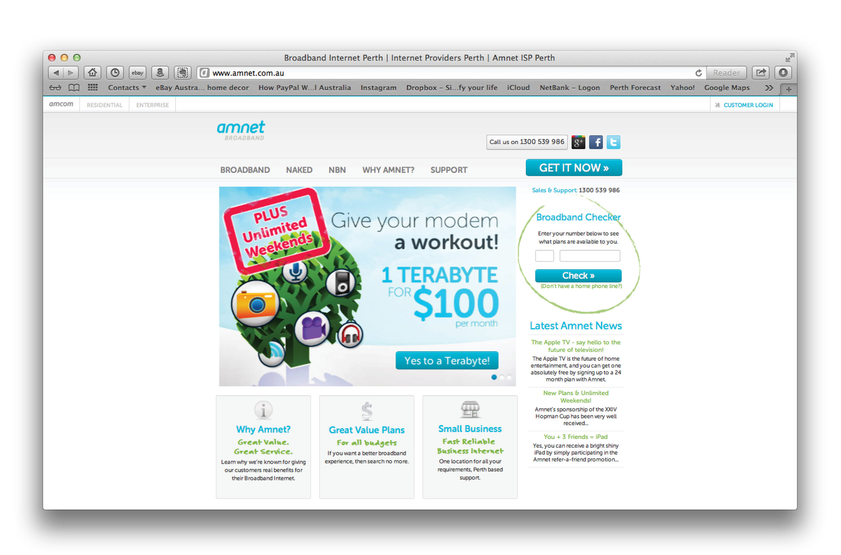 amnet web site redesign on Behance