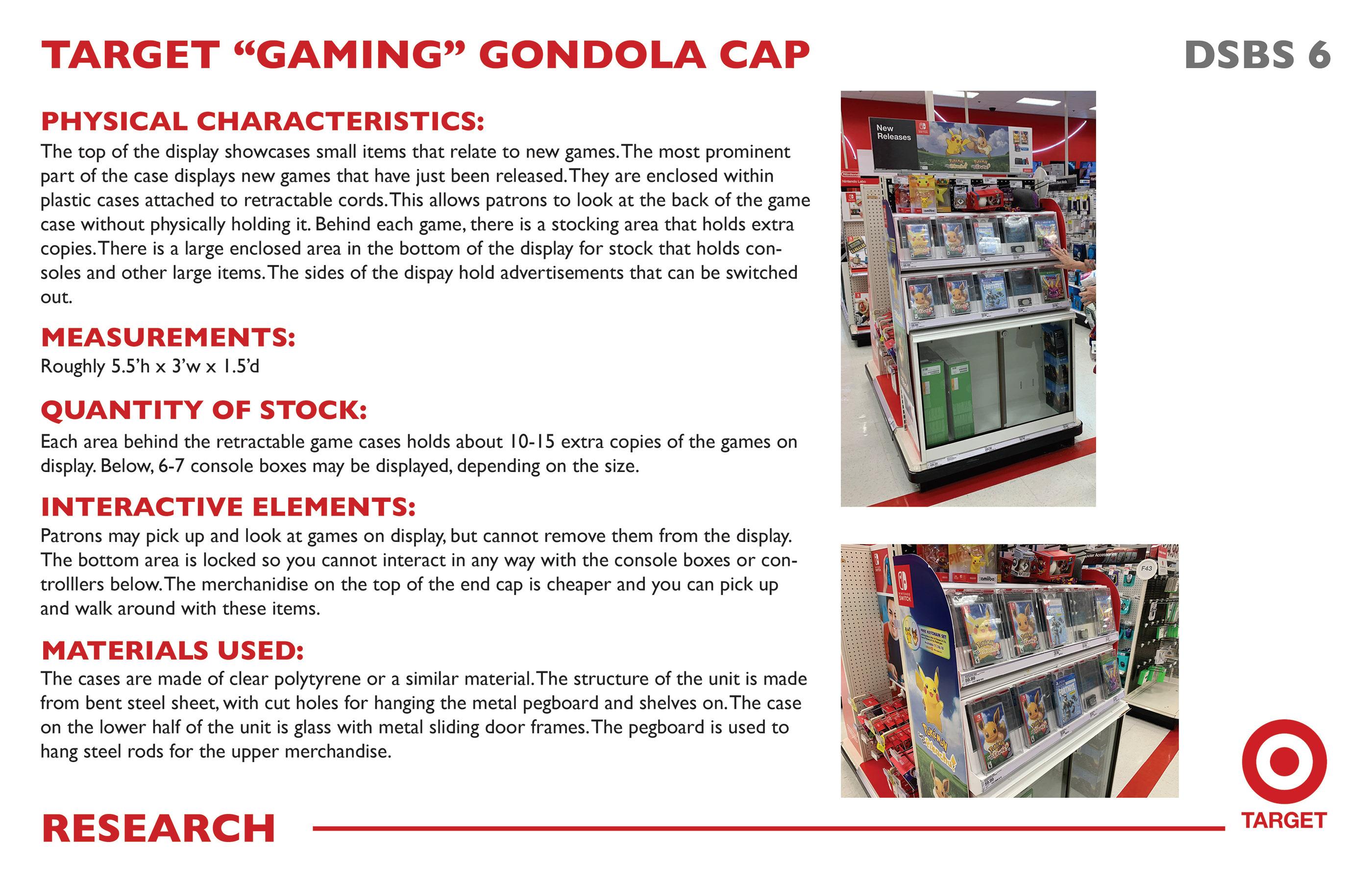 Target Gondola Redesign on Behance