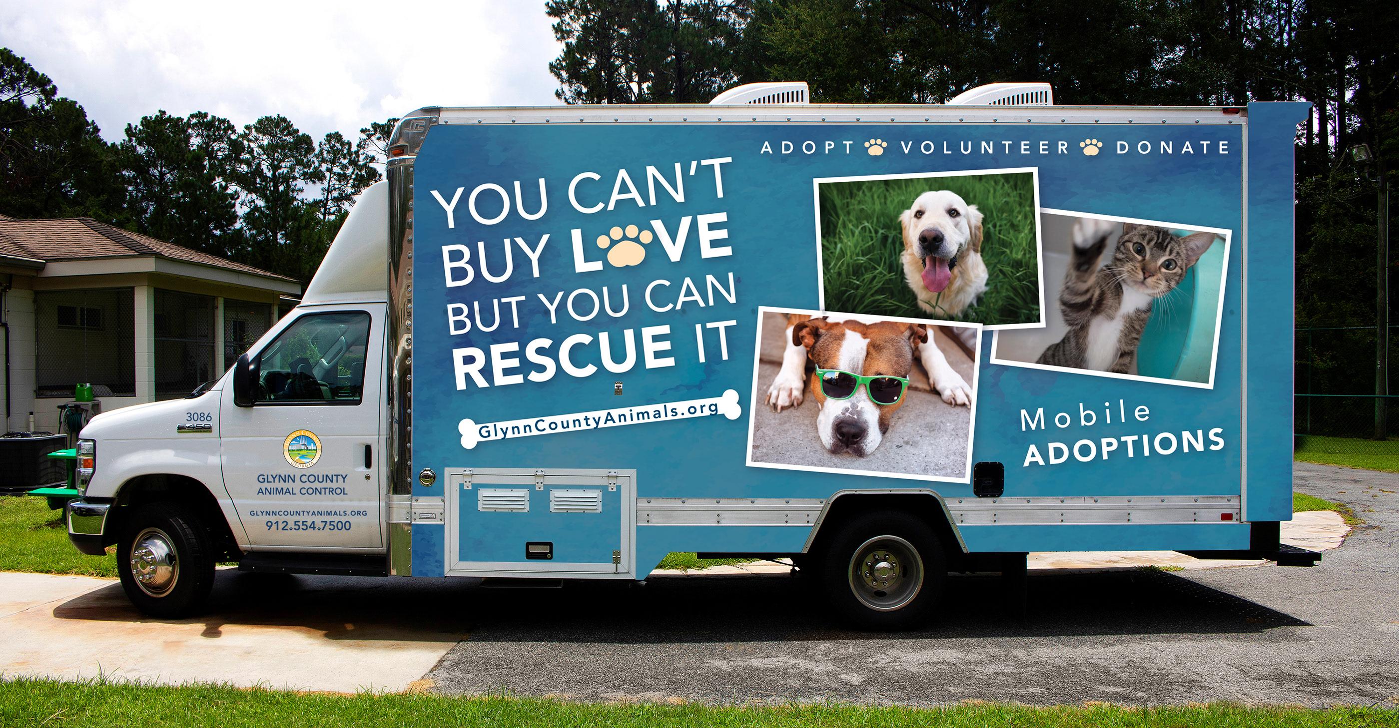 Glynn County Animal Control Van Wrap on Behance