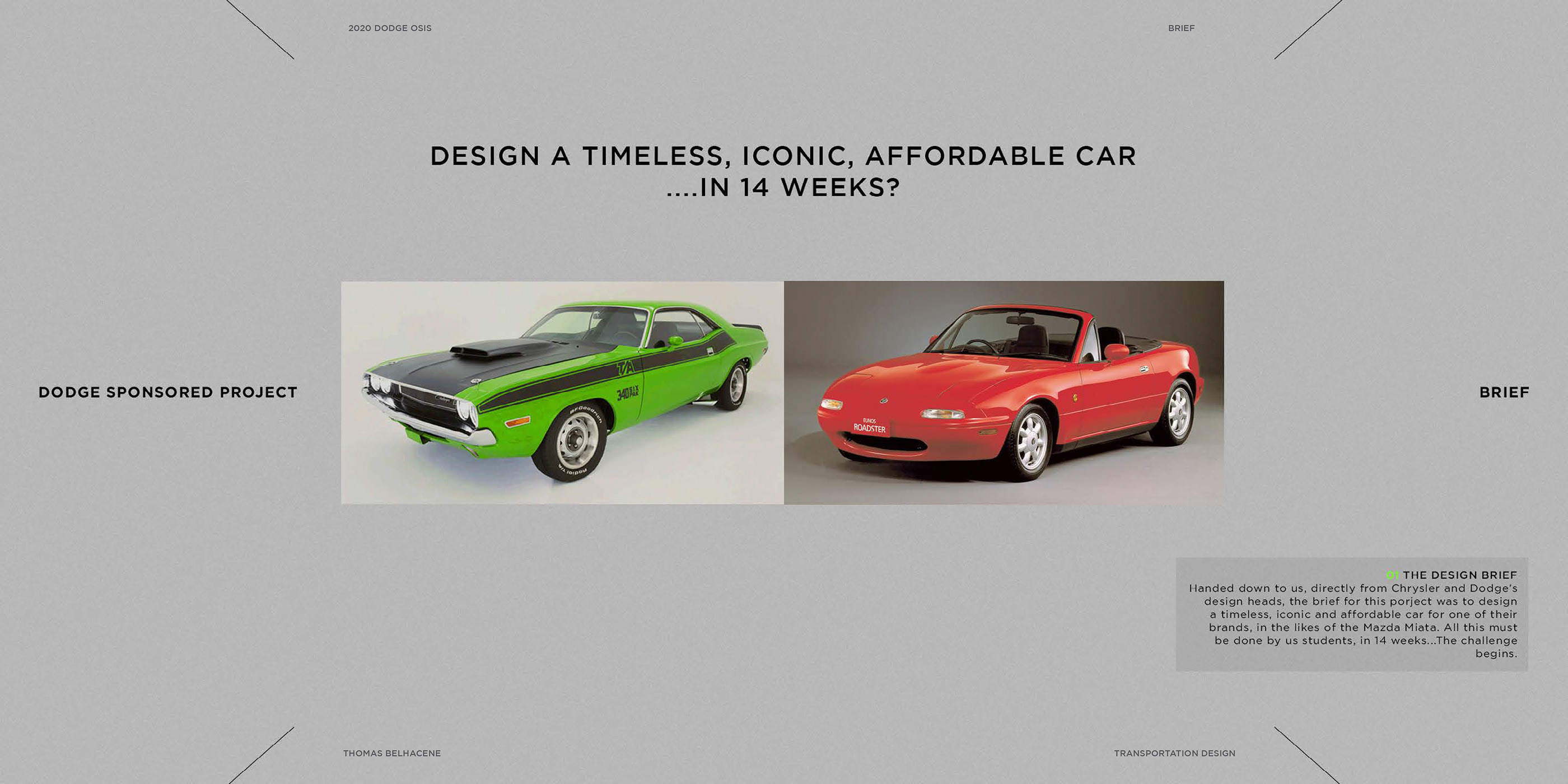 2020 DODGE OSIS on Behance