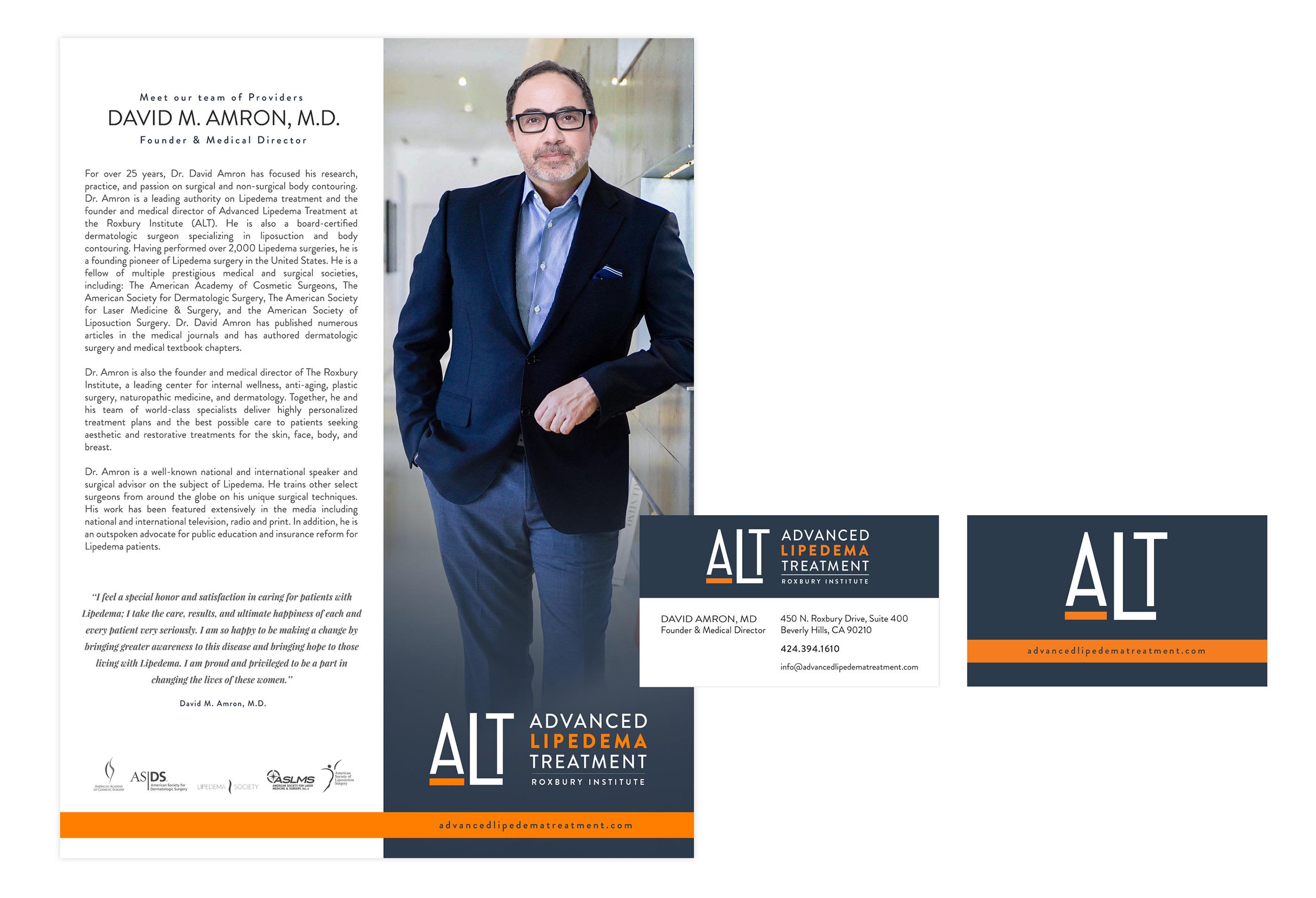 Re-Branding for Advanced Lipdema Treatment Center on Behance