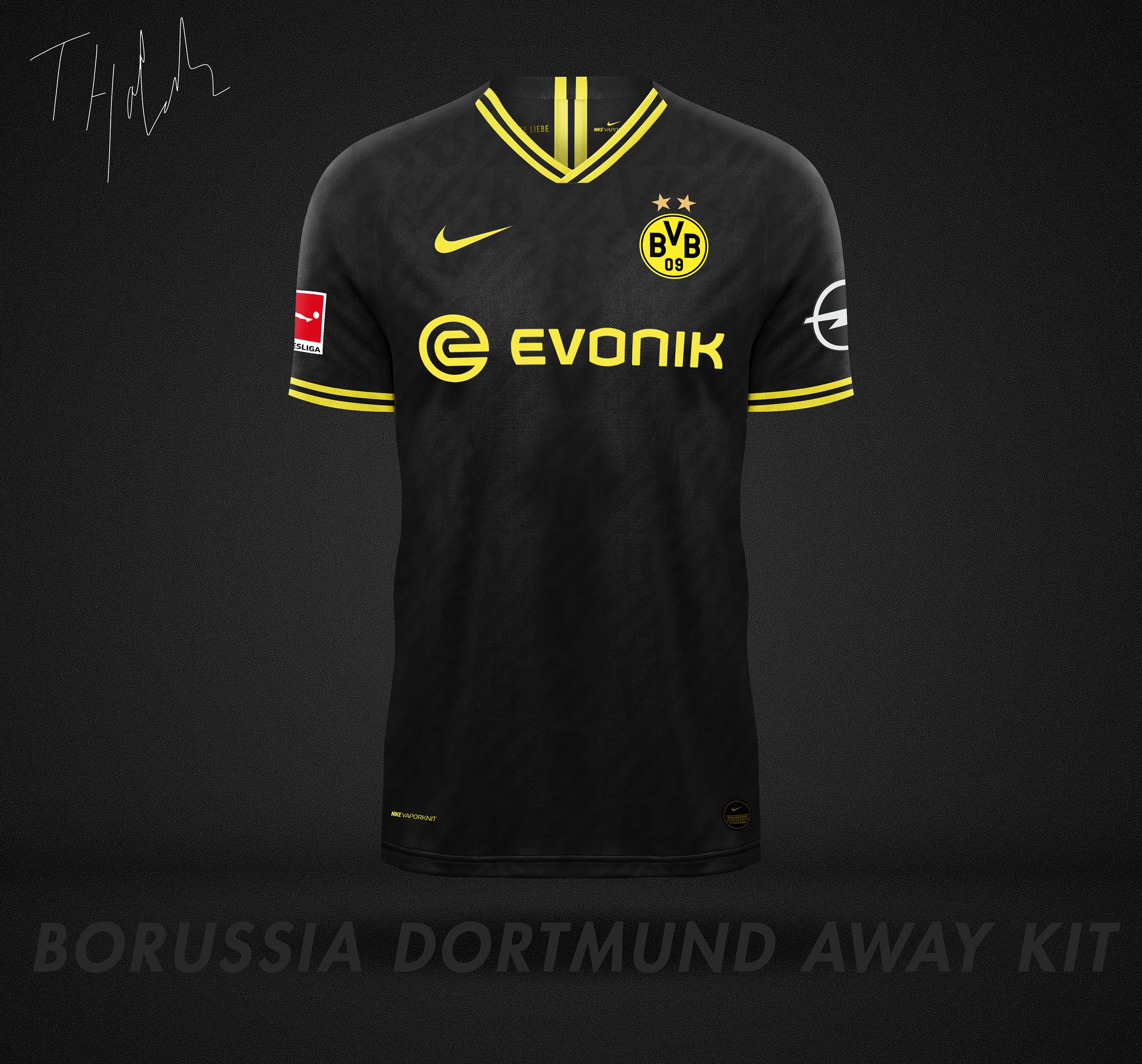 Sudán Indirecto factible  Nike x Borussia Dortmund Kit Concept on Behance