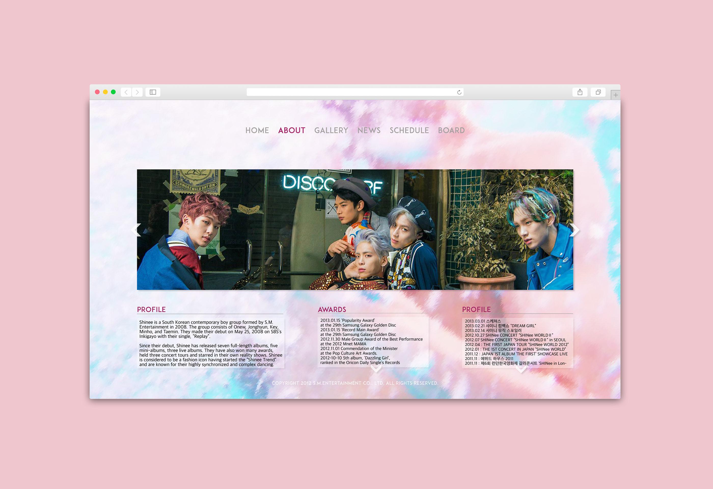 ODD Web Layout on Behance