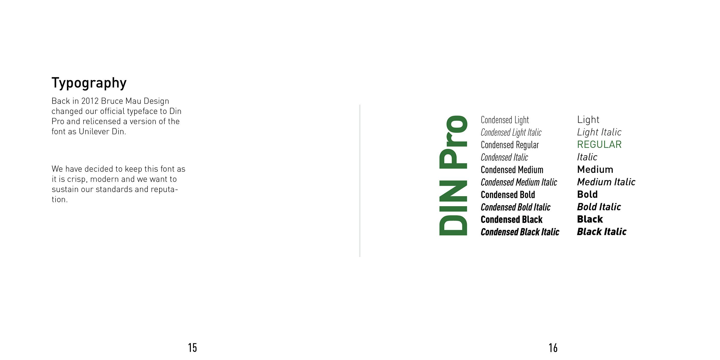 Unilever Sustainability Style Guide on Behance