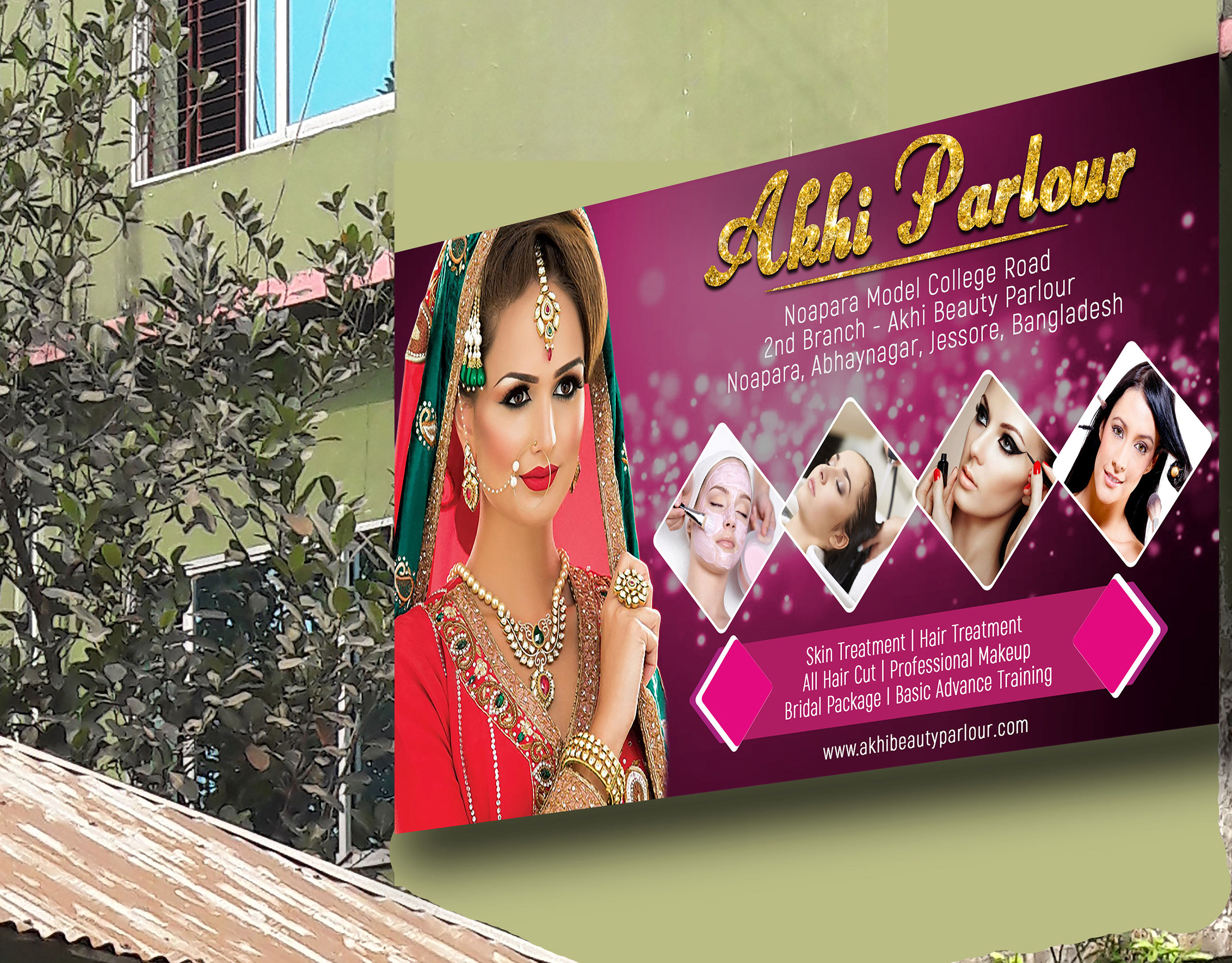 Beauty Parlour Banner Design In Photoshop On Behance