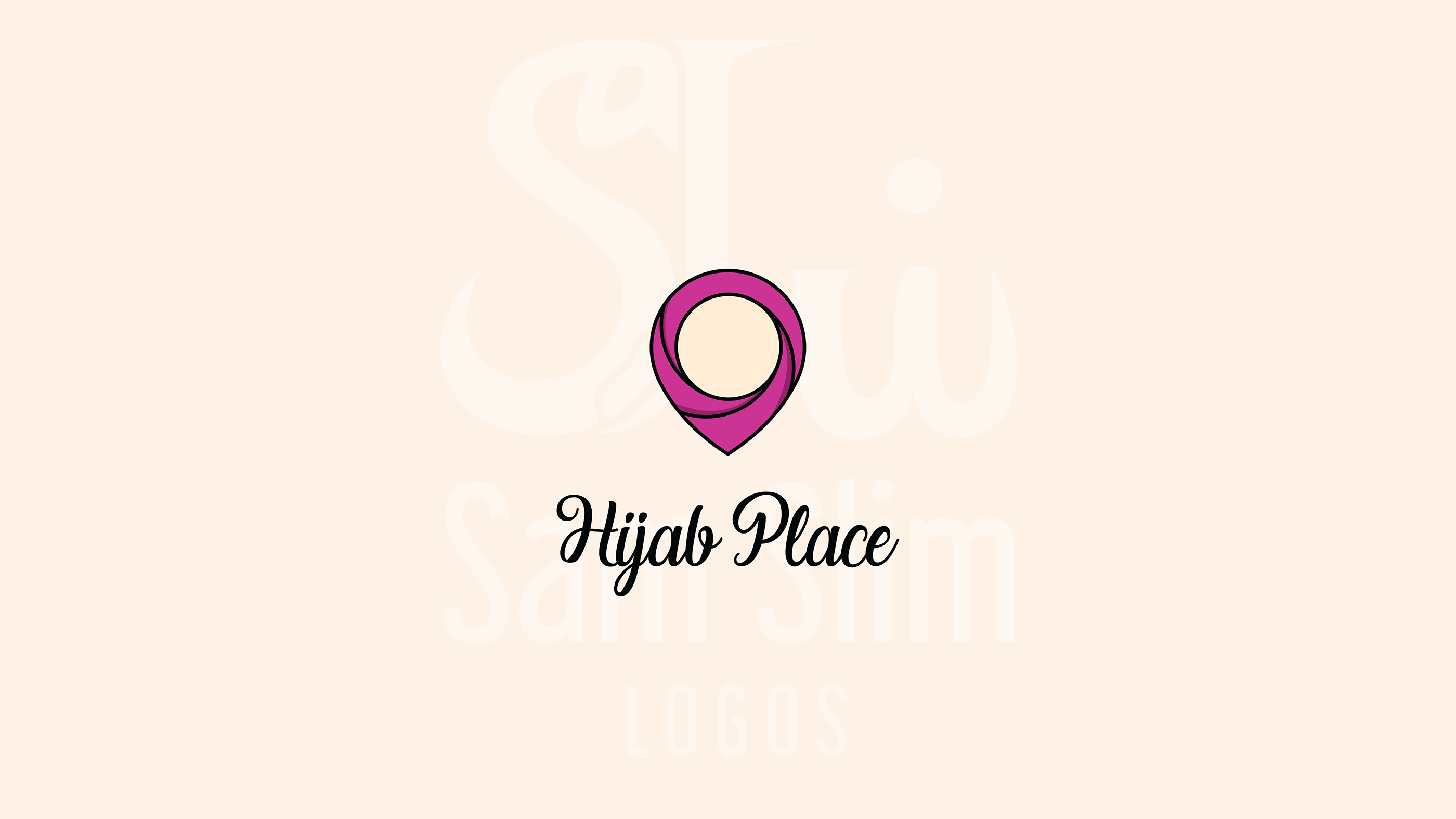 Hijab Place Logo Design On Behance