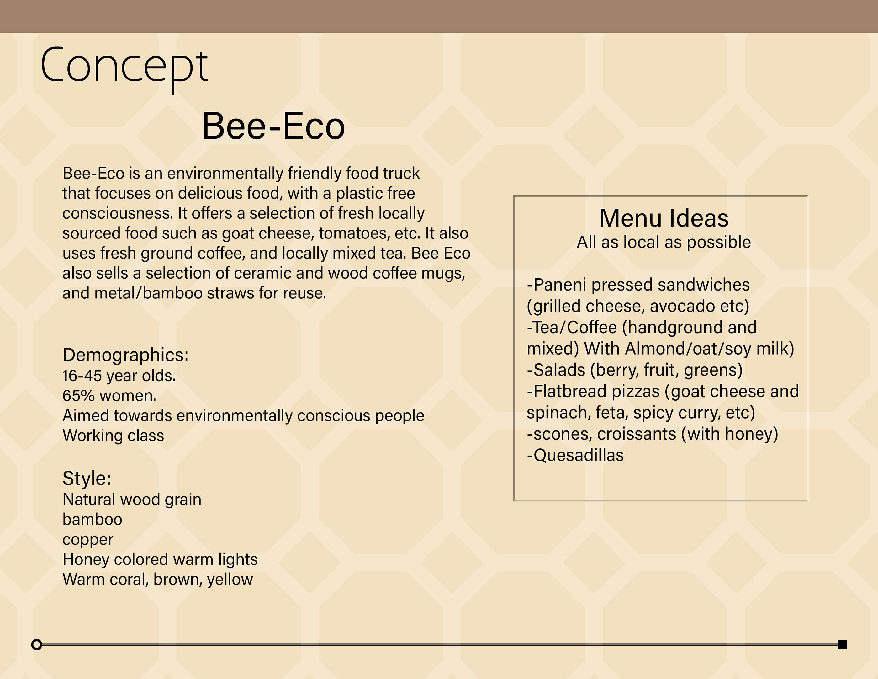 Bee Eco Food Truck Design On Behance