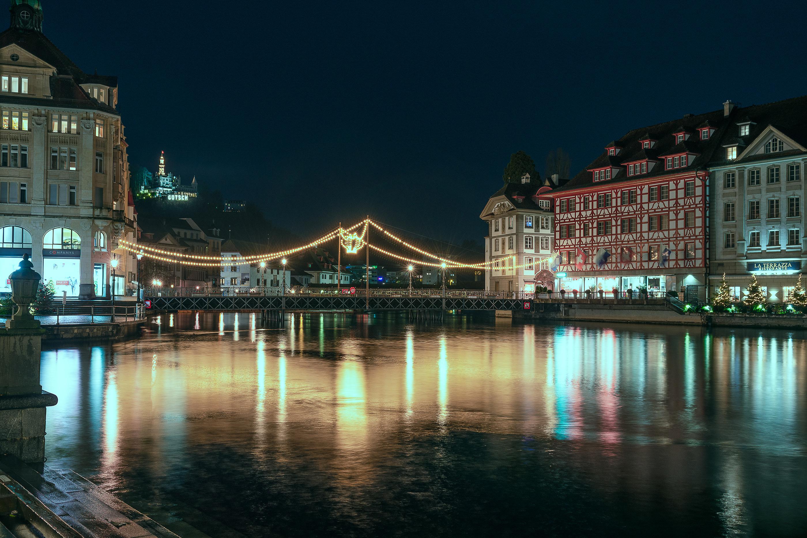 Luzern Night Day On Behance
