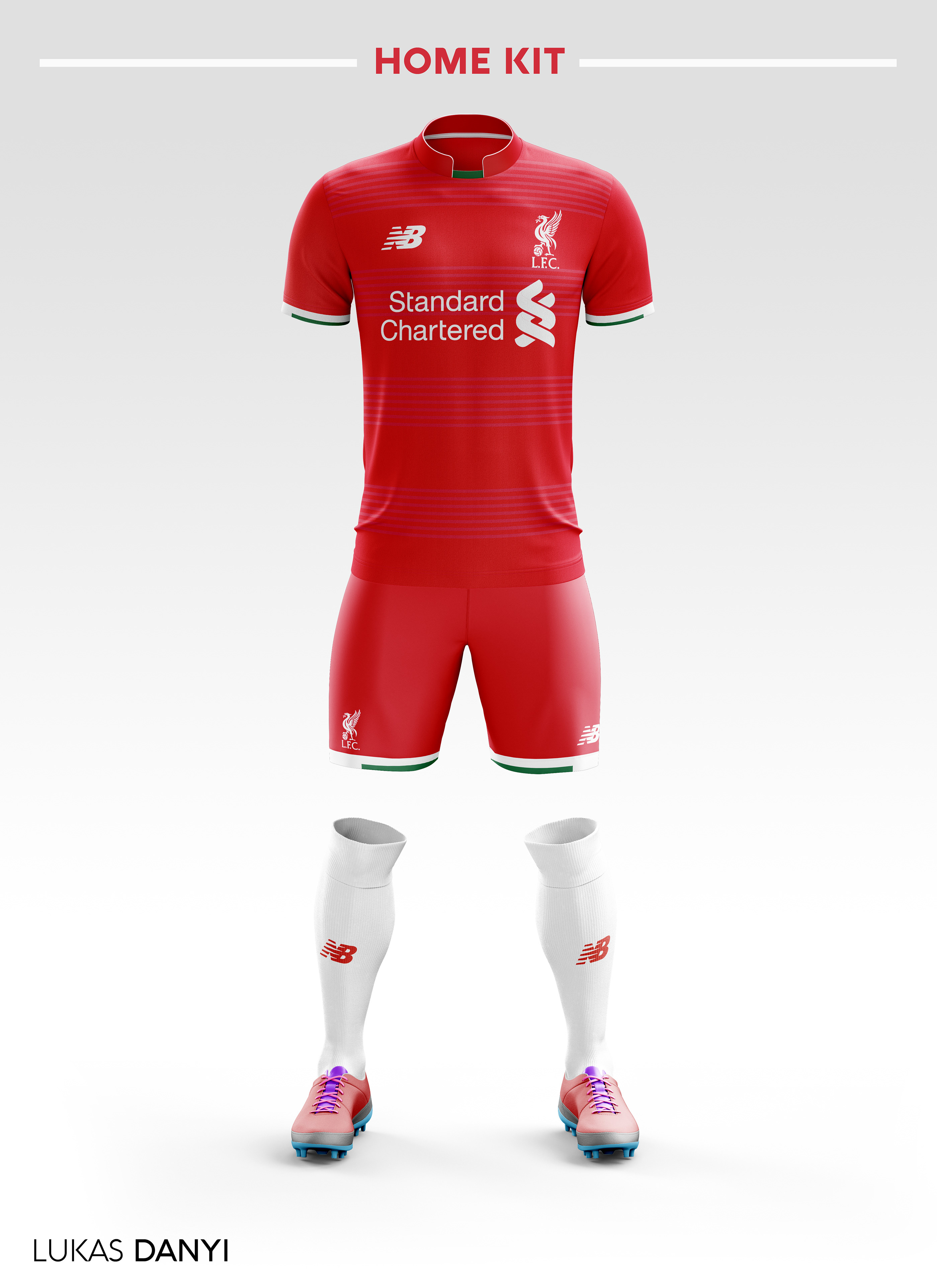 Fc Liverpool Football Kit 18/19  on Behance
