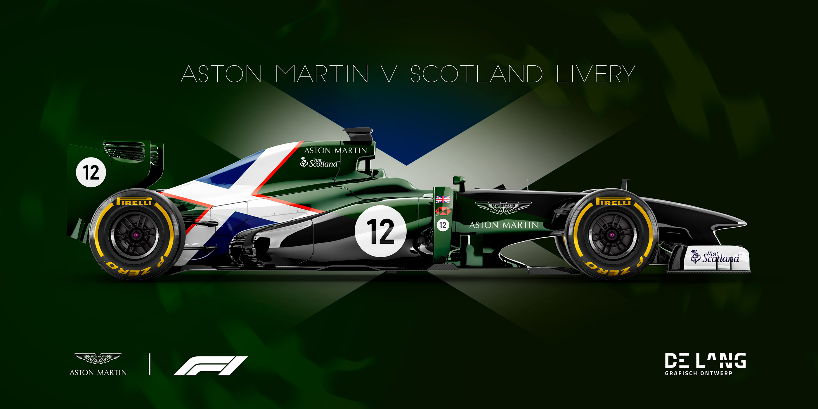 F1 Livery Concept 2 Aston Martin F1 Team On Behance