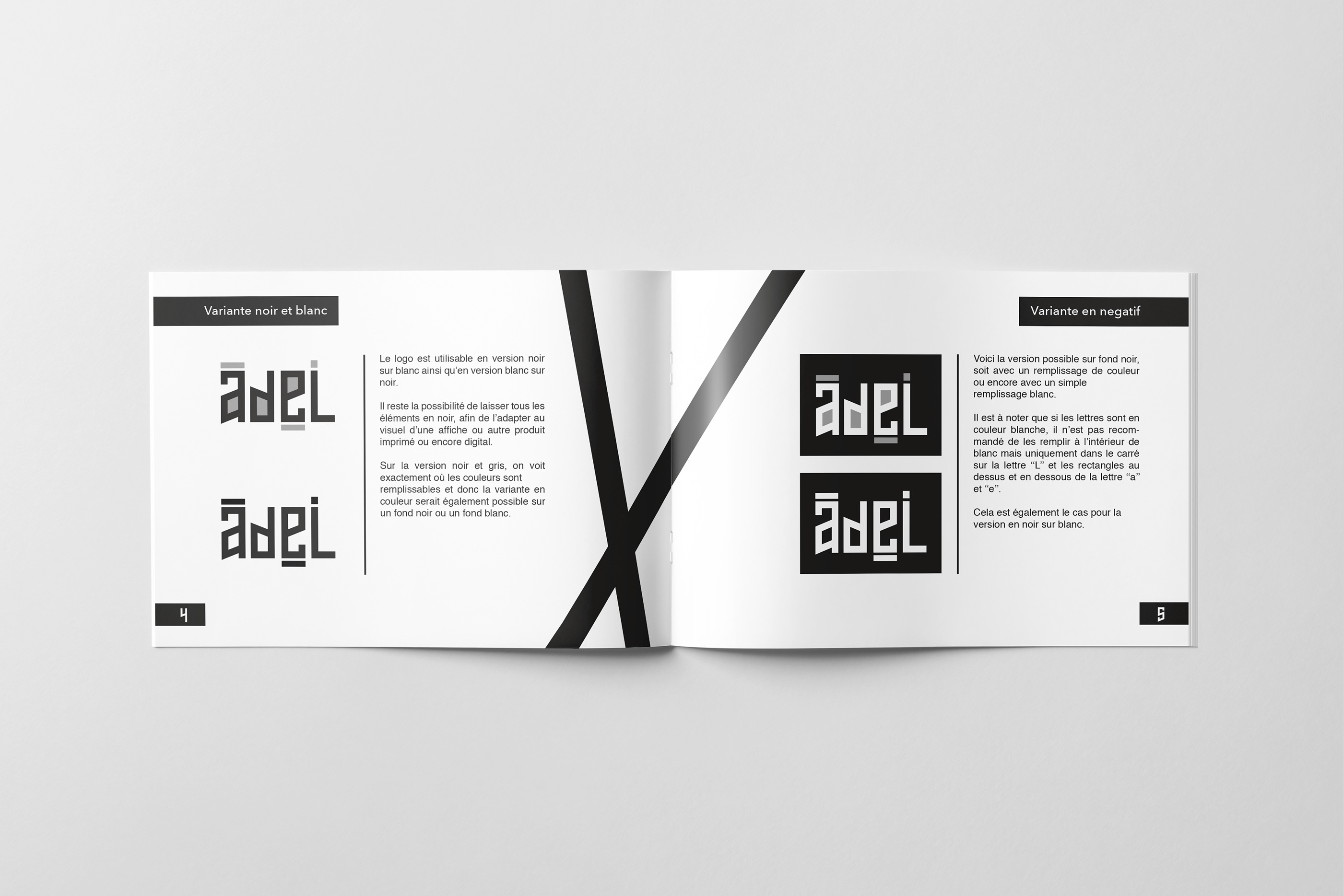 Affiche Noir Et Blanc Avec Couleur art and design evolution luxembourg - modular logo on behance