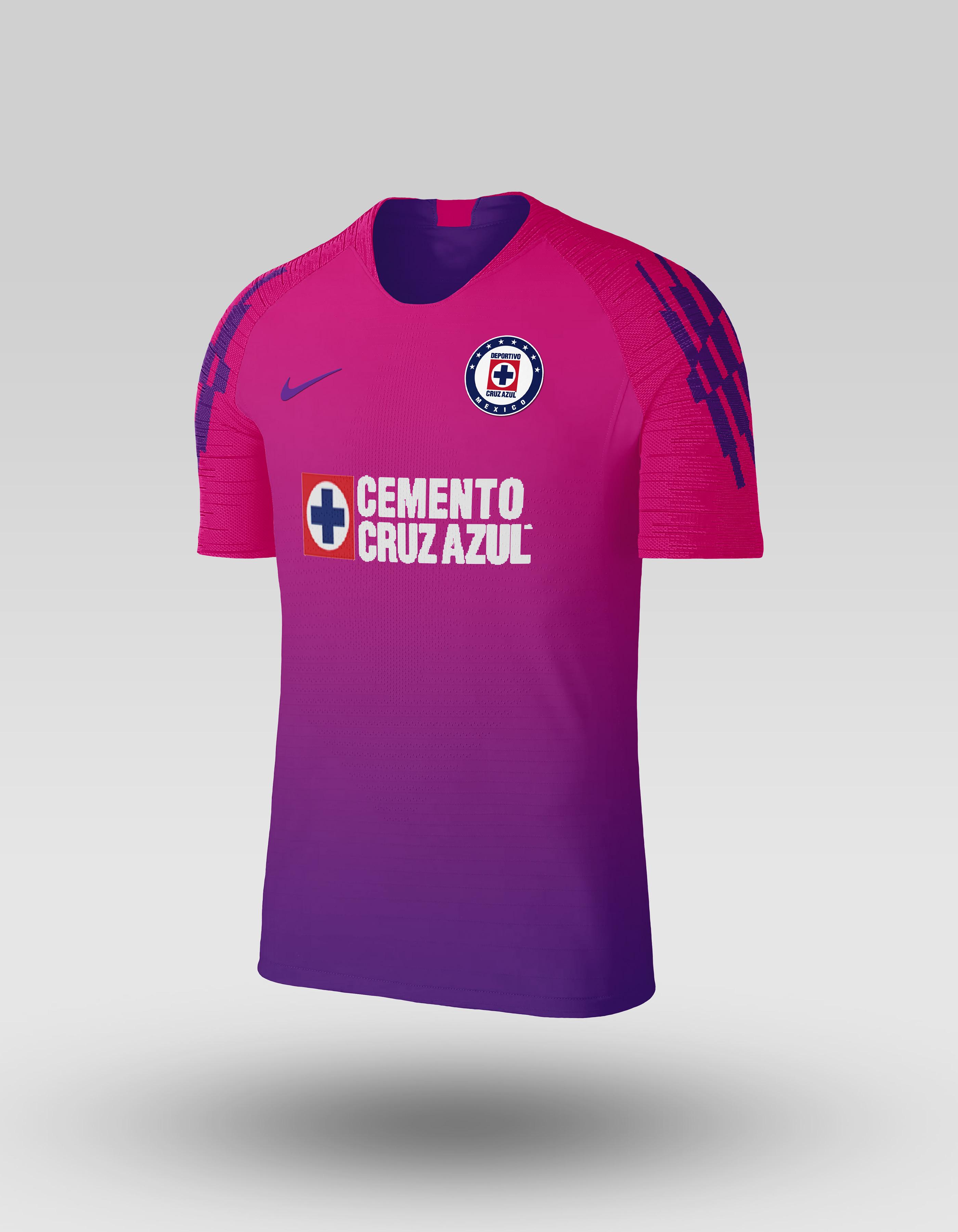 6ad2a7553 Nike Cruz Azul FC 2018-19 Vaporknit Collection on Behance