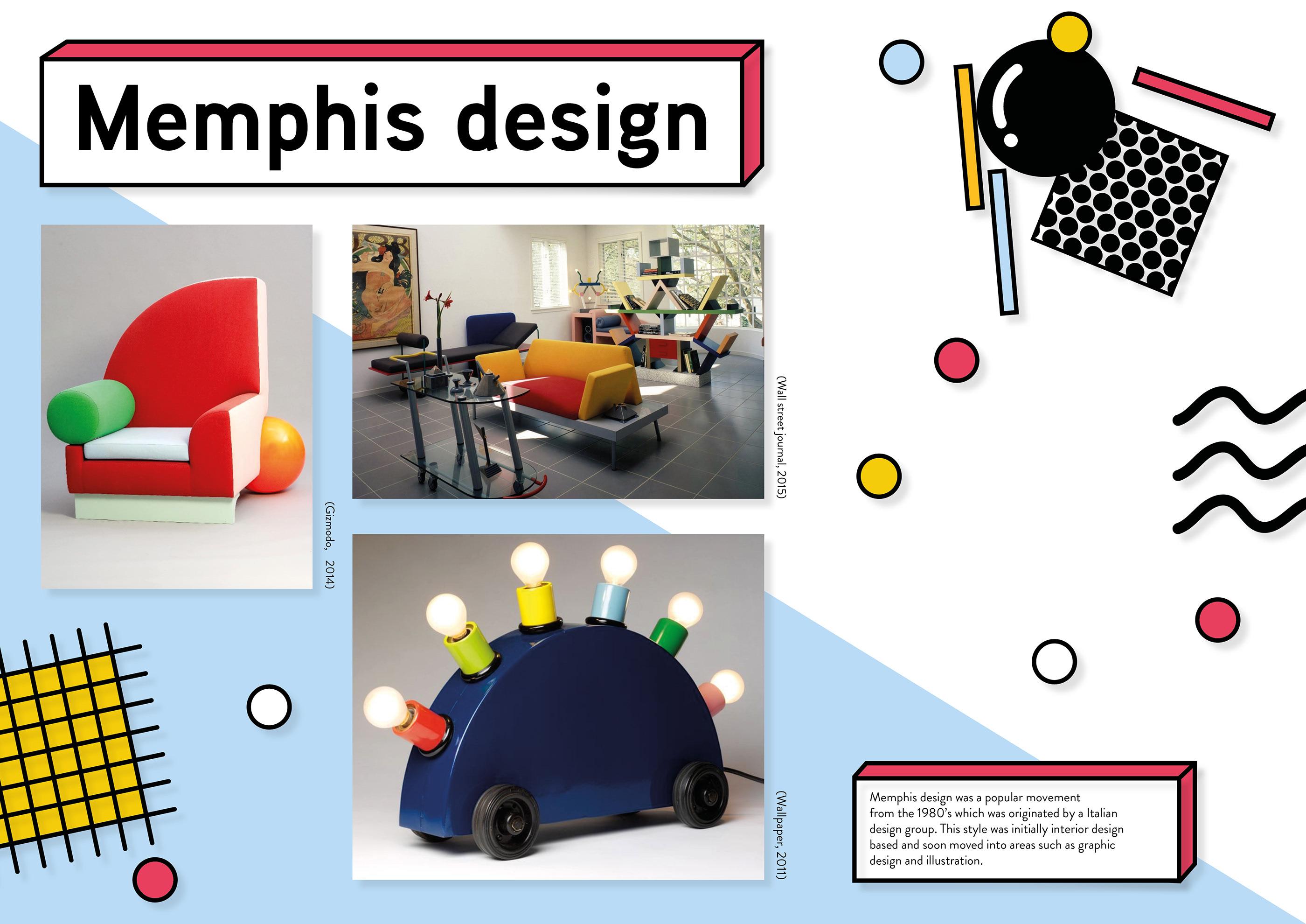 Memphis design on Behance