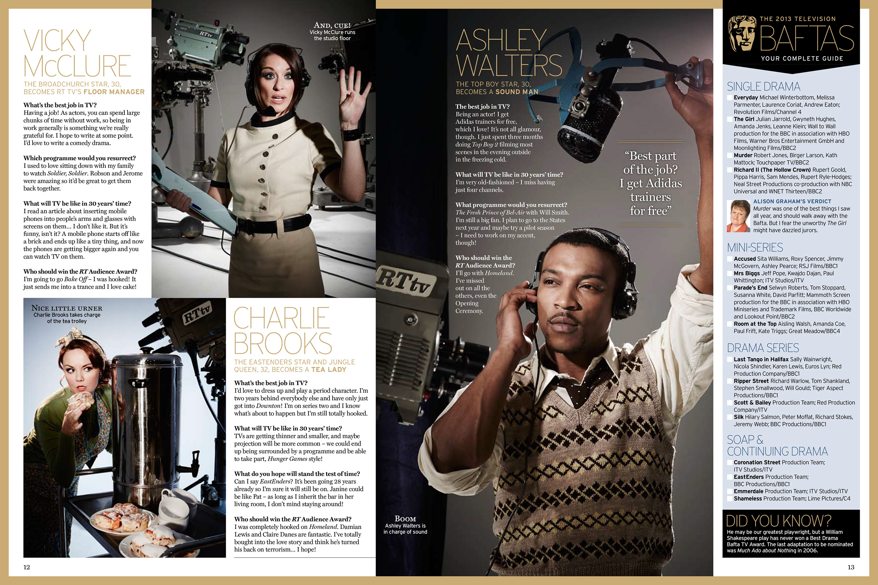 Radio Times Special Projects on Behance