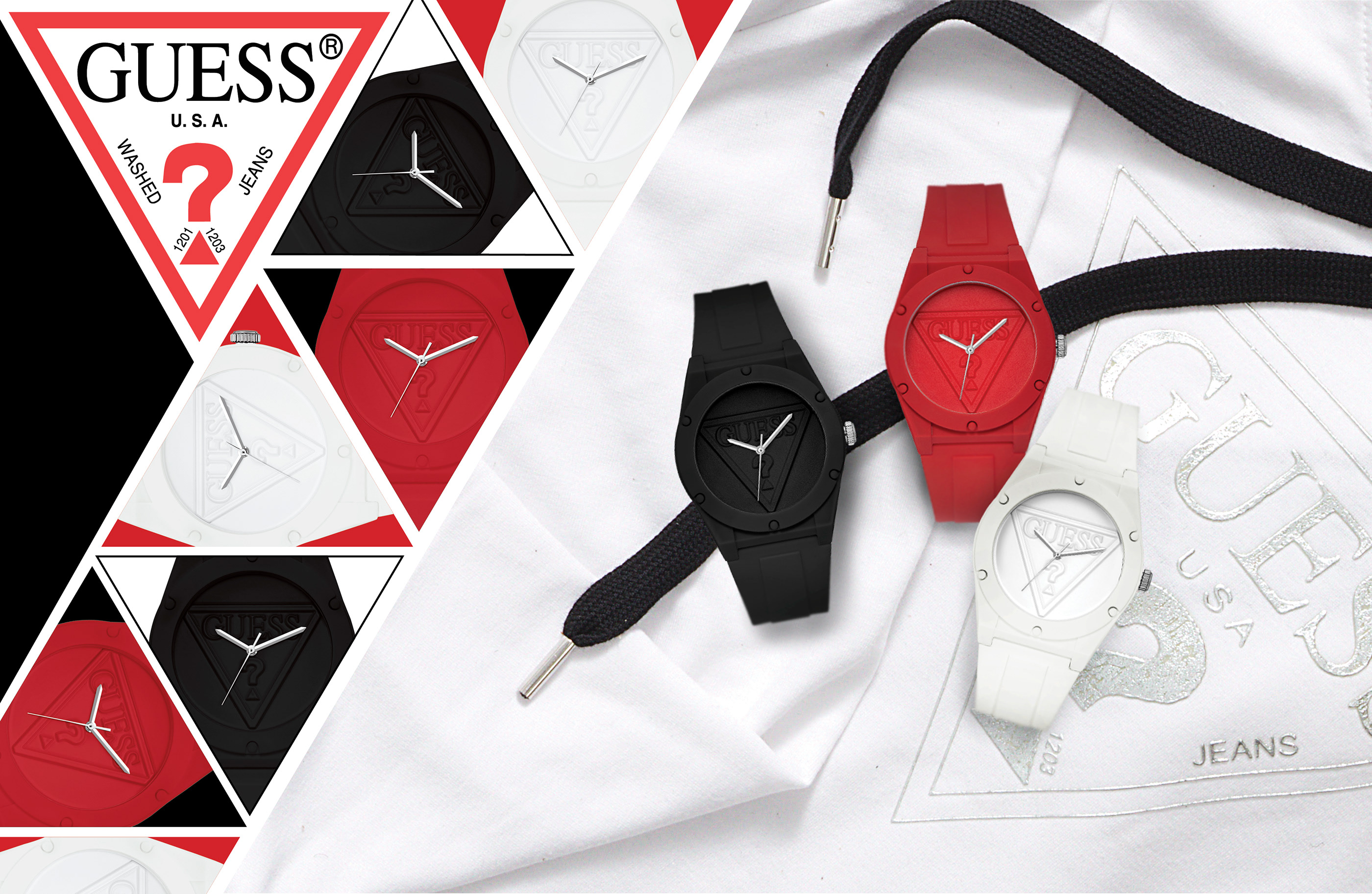 Guess Watches Web Banner On Behance