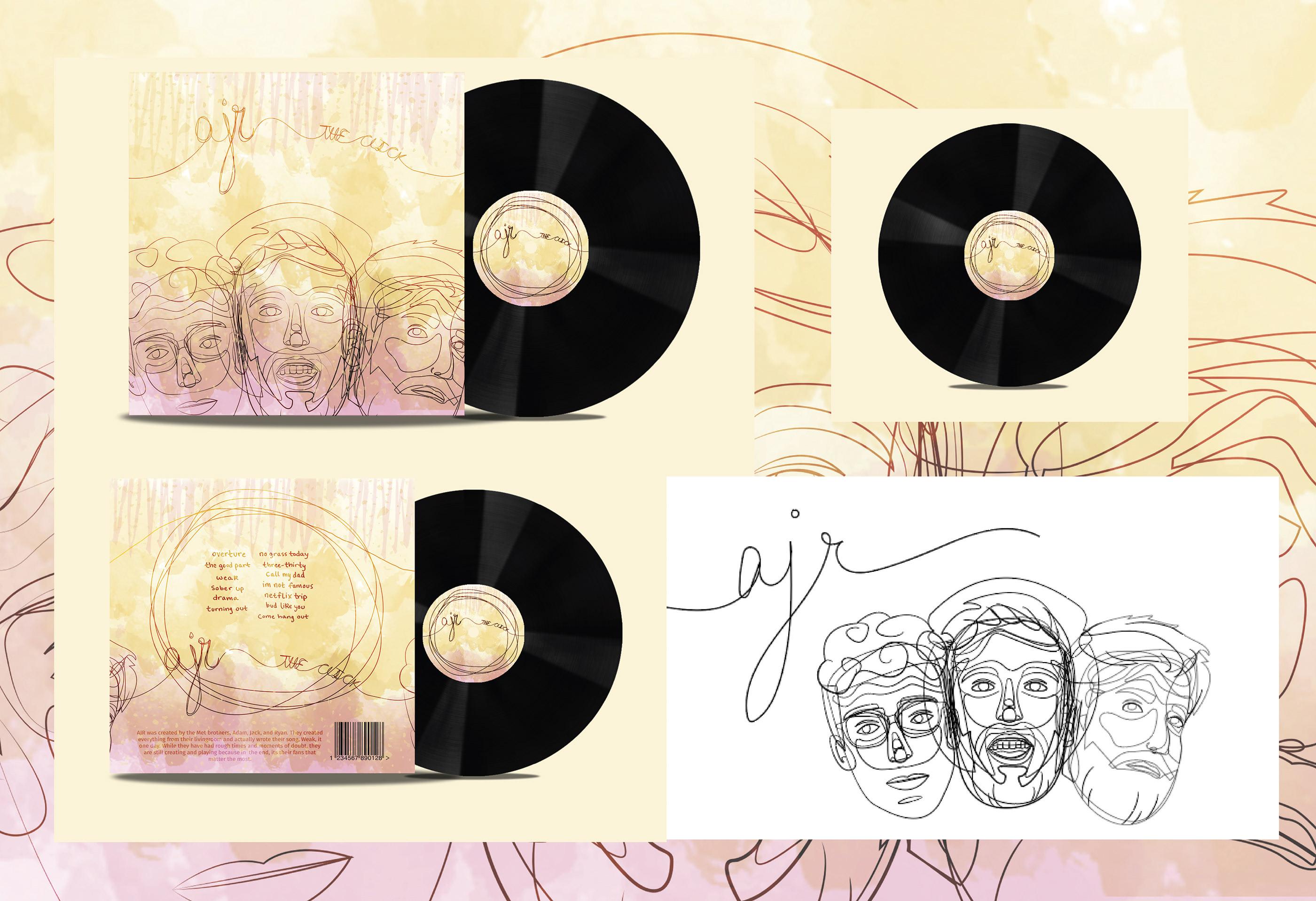 The Click | EXPERIMENTAL DESIGN | Album Art | Final on Behance