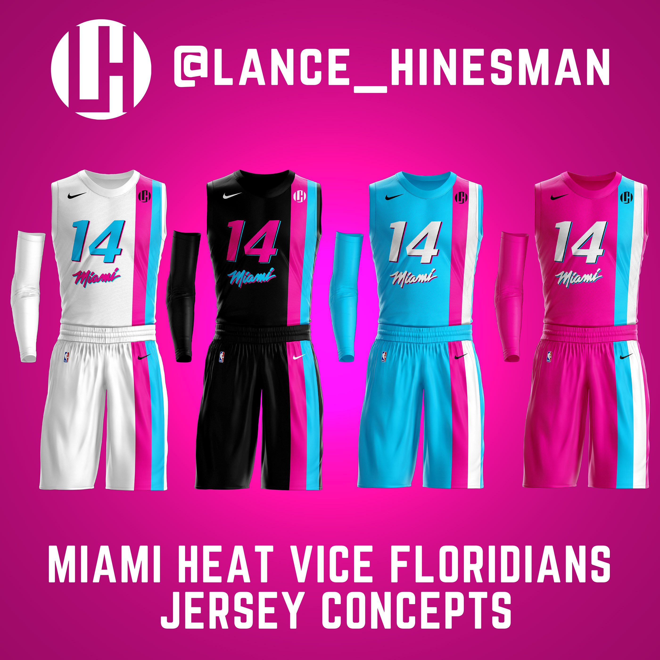 Miami Heat Vice Floridians Jersey Concept On Behance