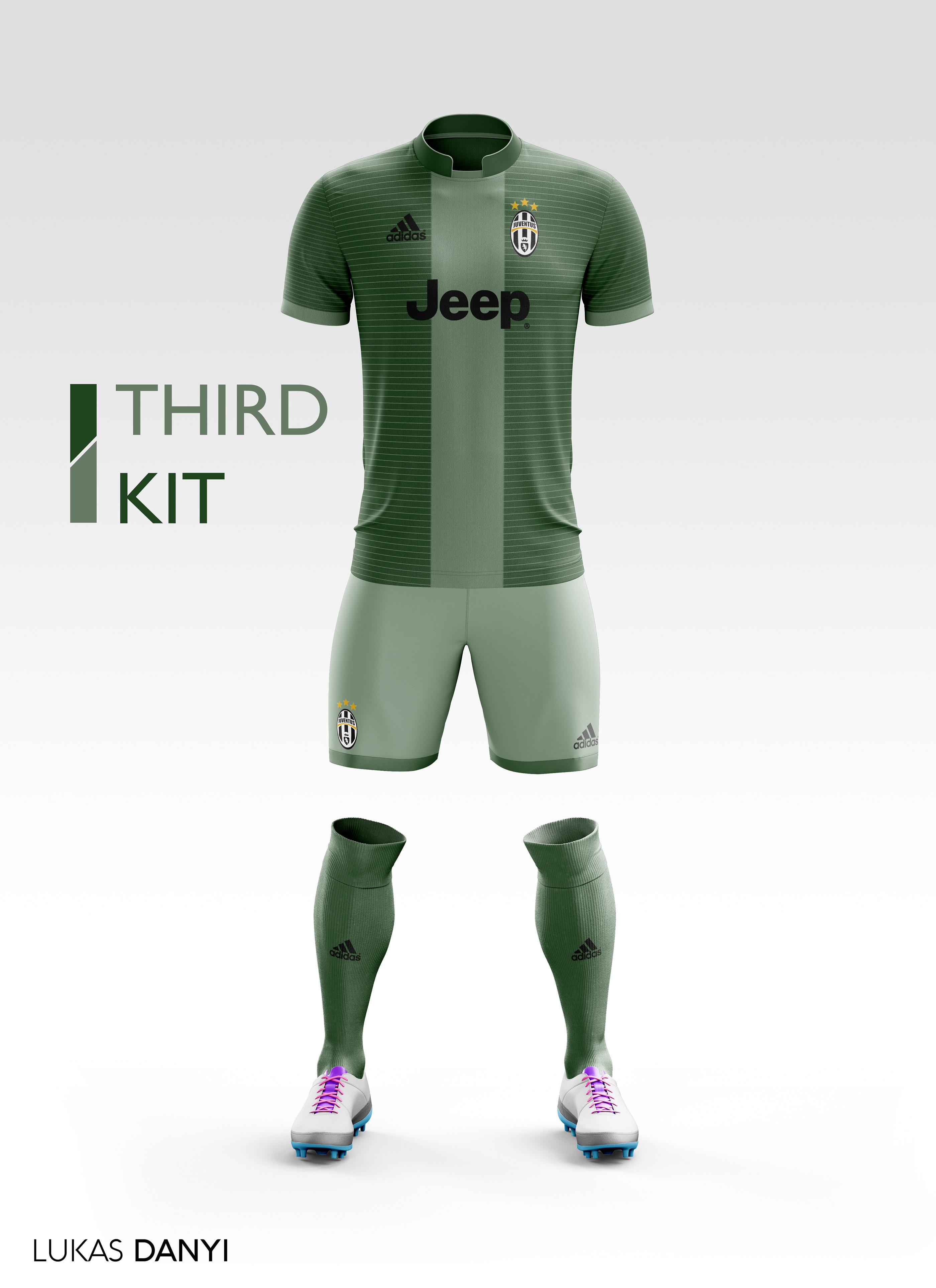 premium selection 72b37 4d39f Juventus FC Football Kit 17/18. on Behance