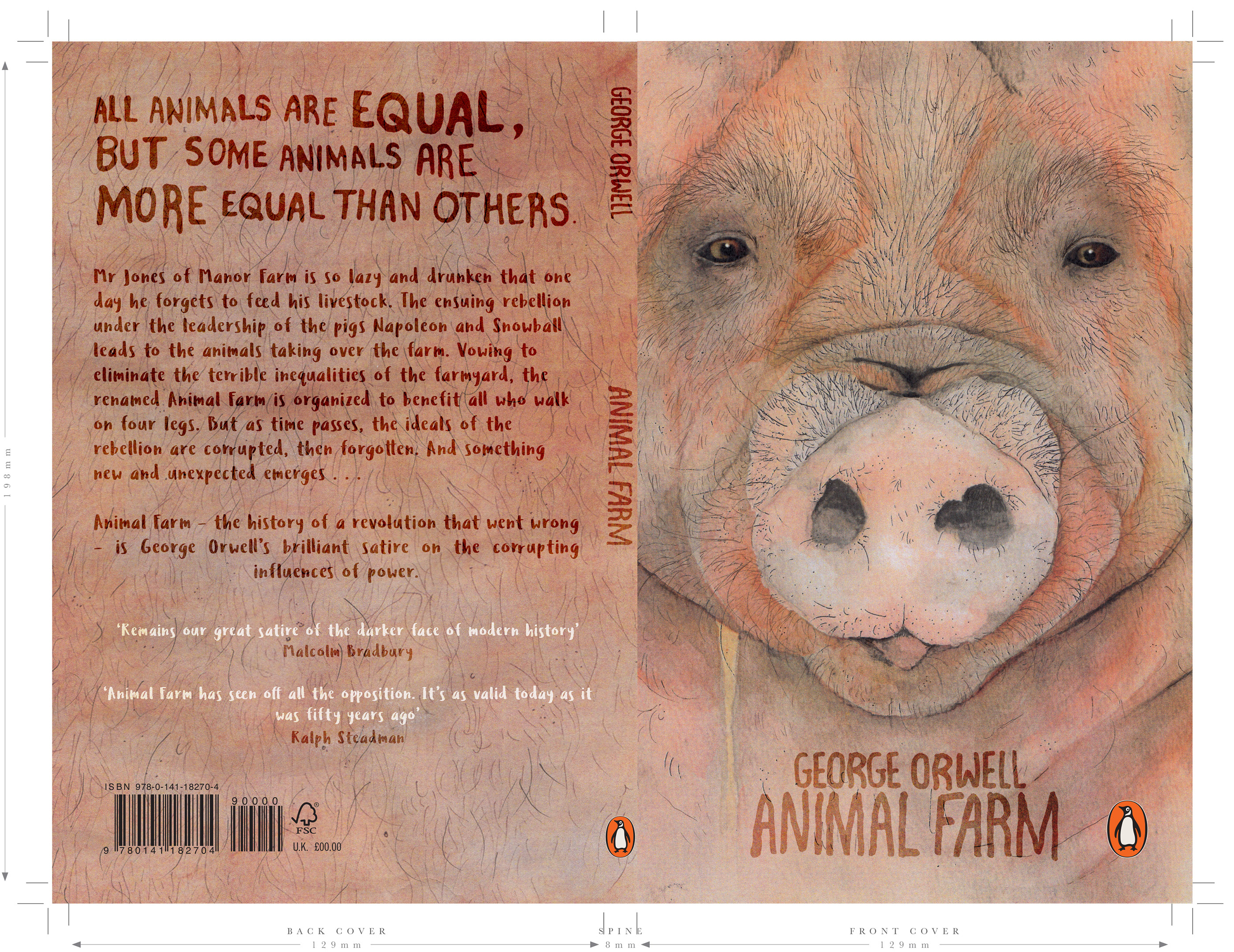 Penguin Book Cover Competition Animal Farm On Behance