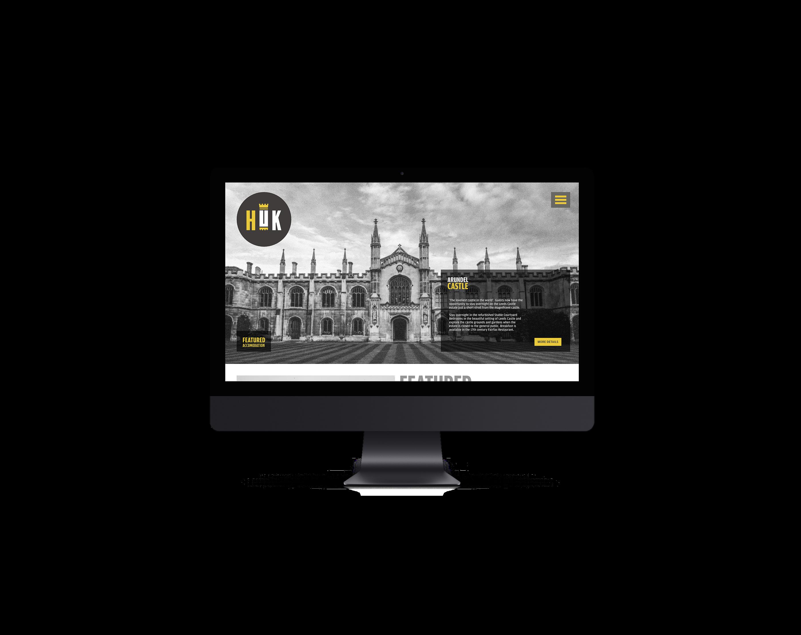 Huk Website Design On Behance