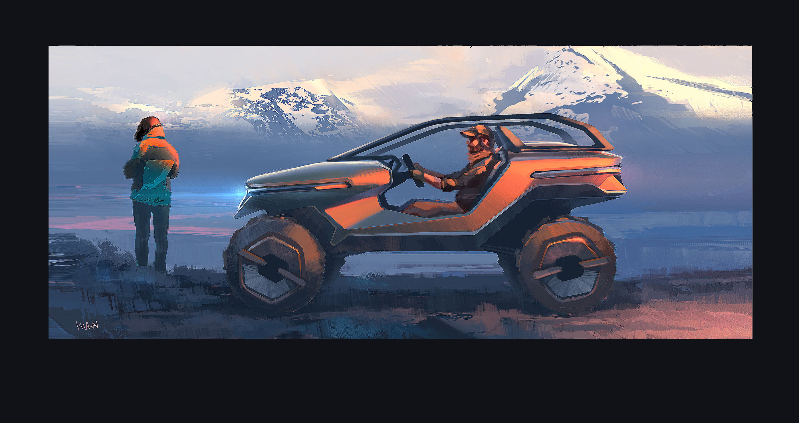 Jeep In A Box Behance
