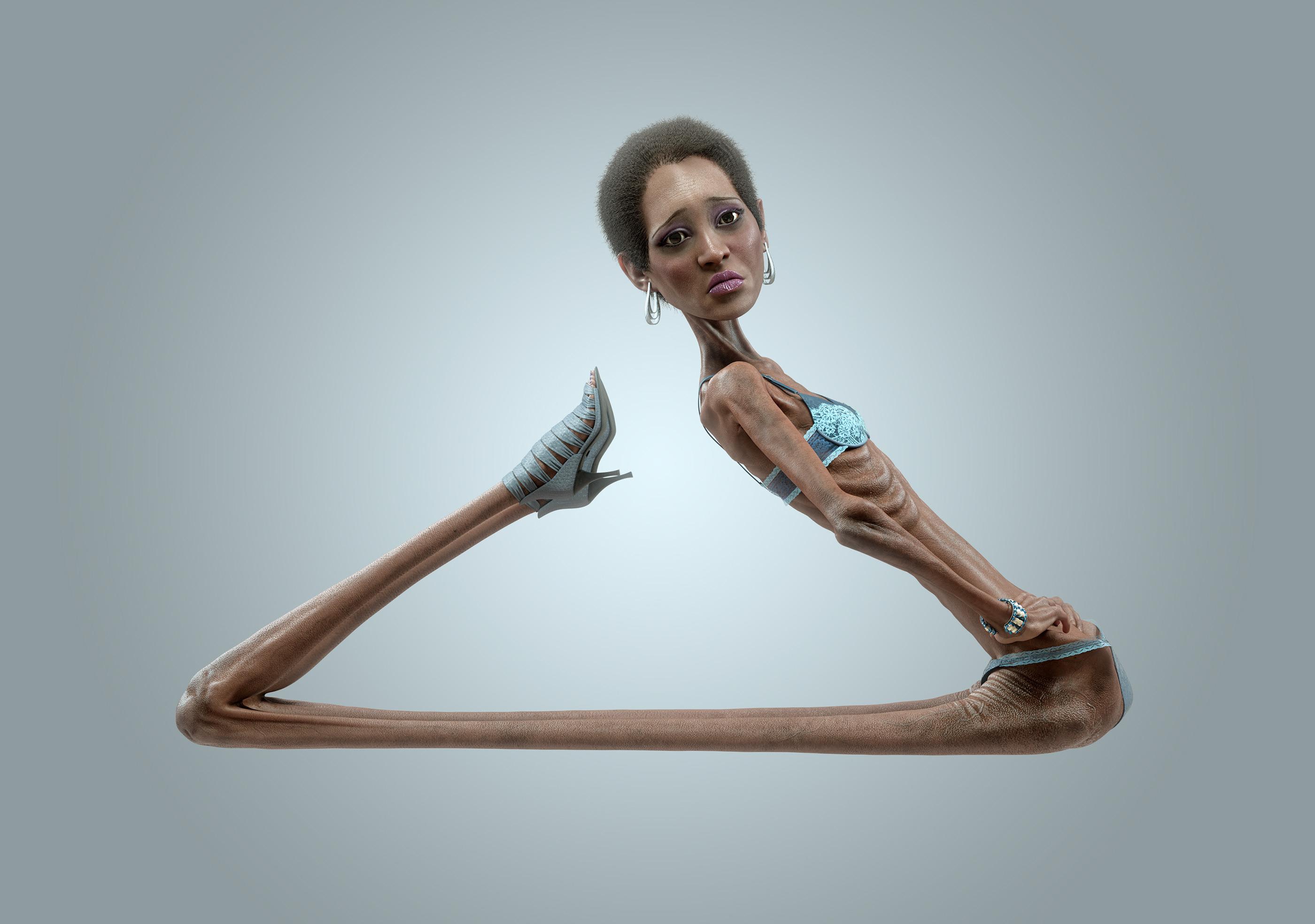 Февраля, прикольные картинки анорексии