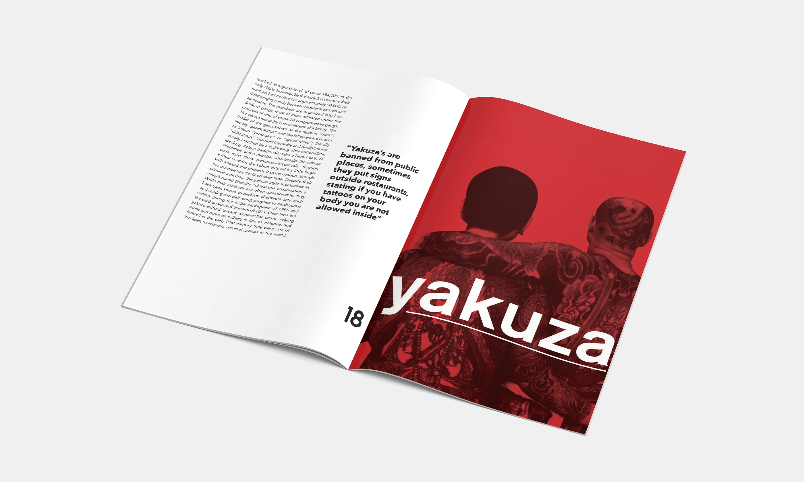 Taboo   Editorial Design on Behance