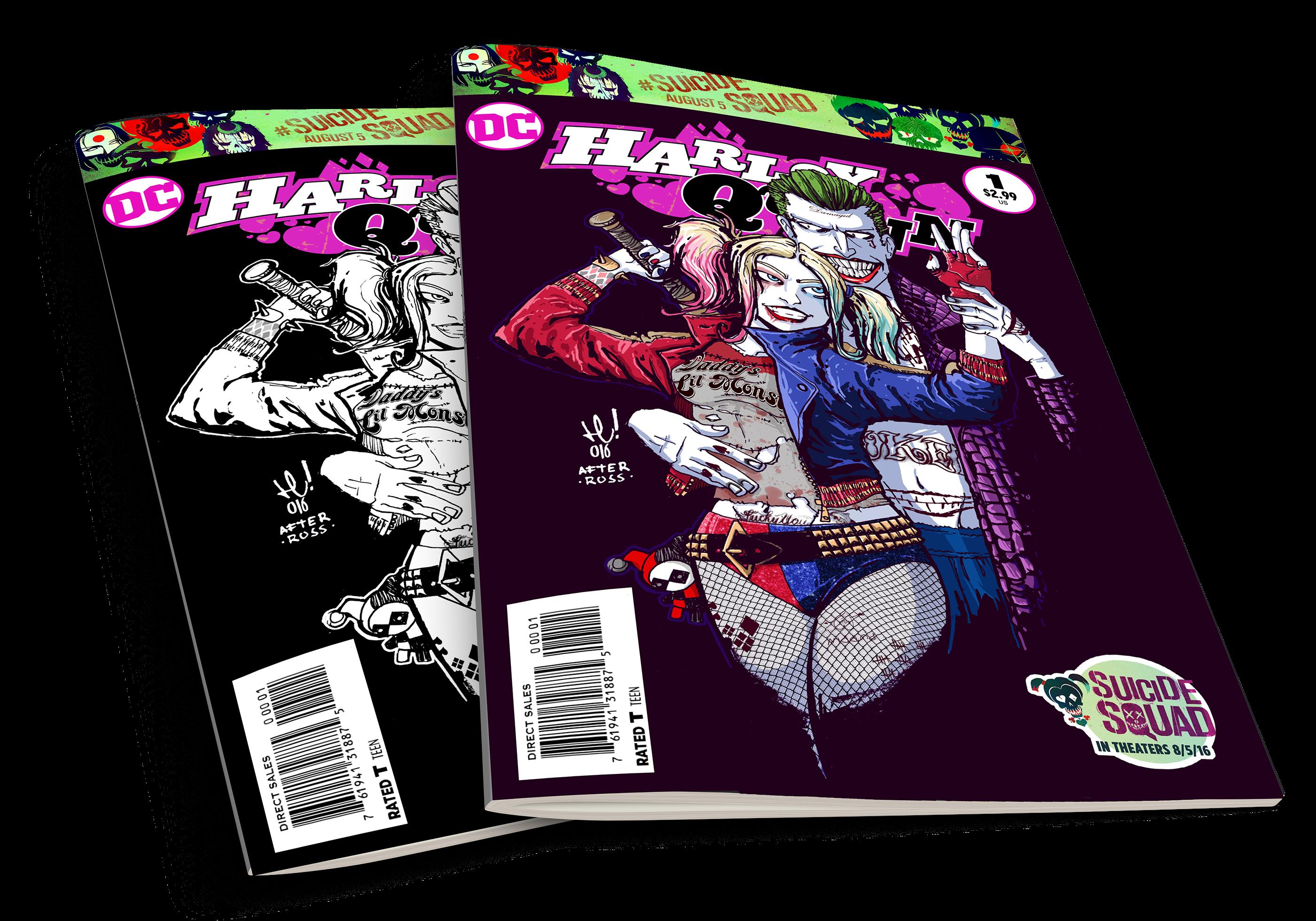 Mad Love Harley Quinn Joker On Behance