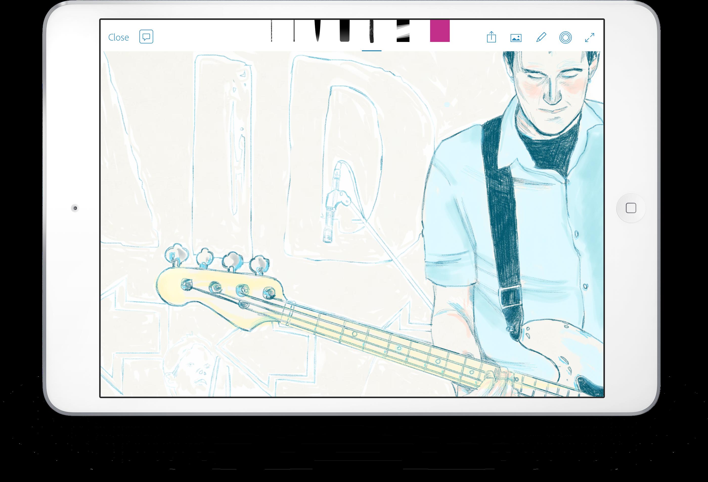 Adobe Photoshop Sketch On Behance