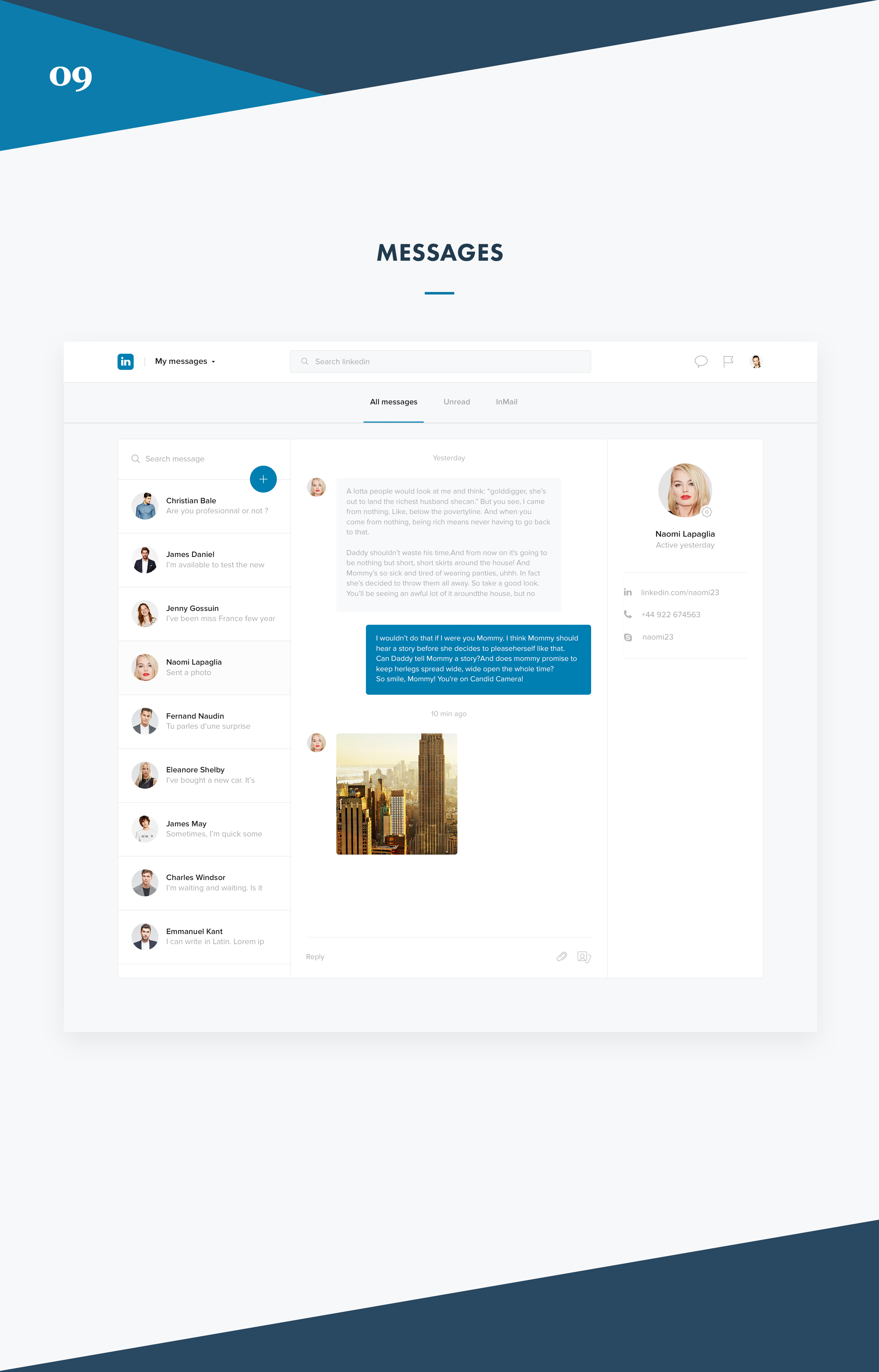 What if Linkedin was beautiful - Redesign concept on Behance
