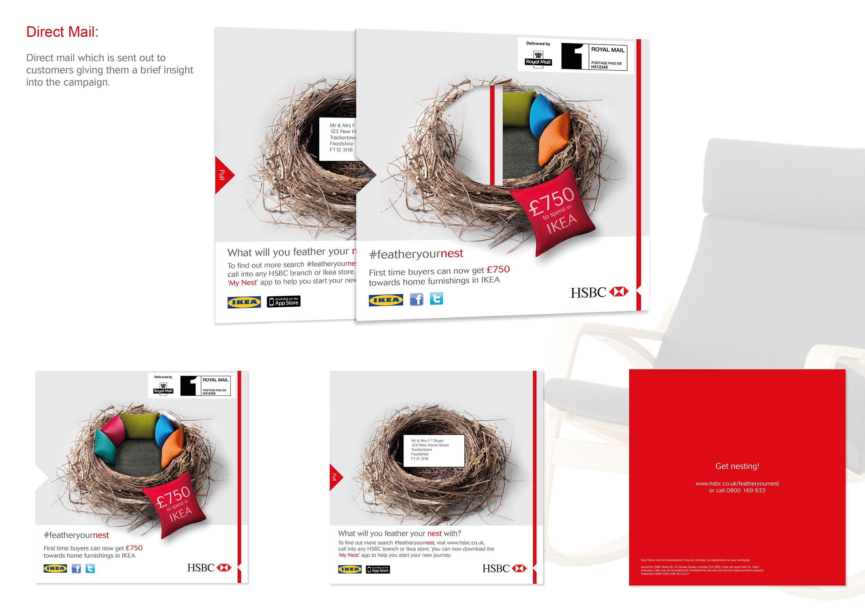 HSBC First time buyers campaign on Behance