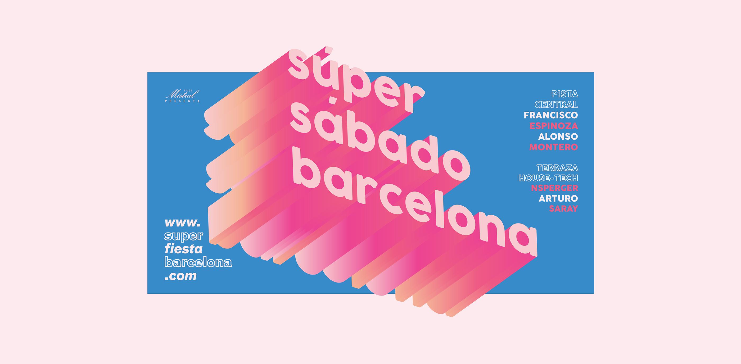 Súper Sábado Barcelona On Behance