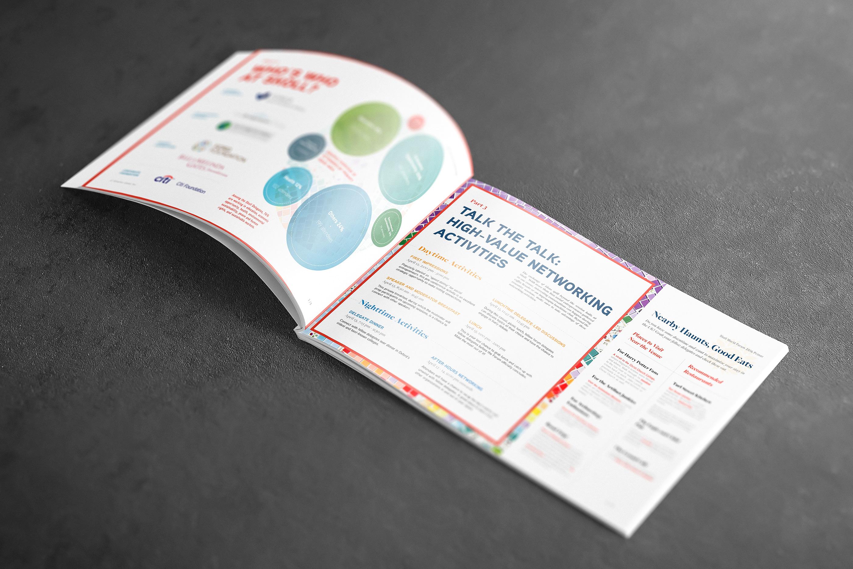 Skoll World Forum Primer for Smarter Good on Behance