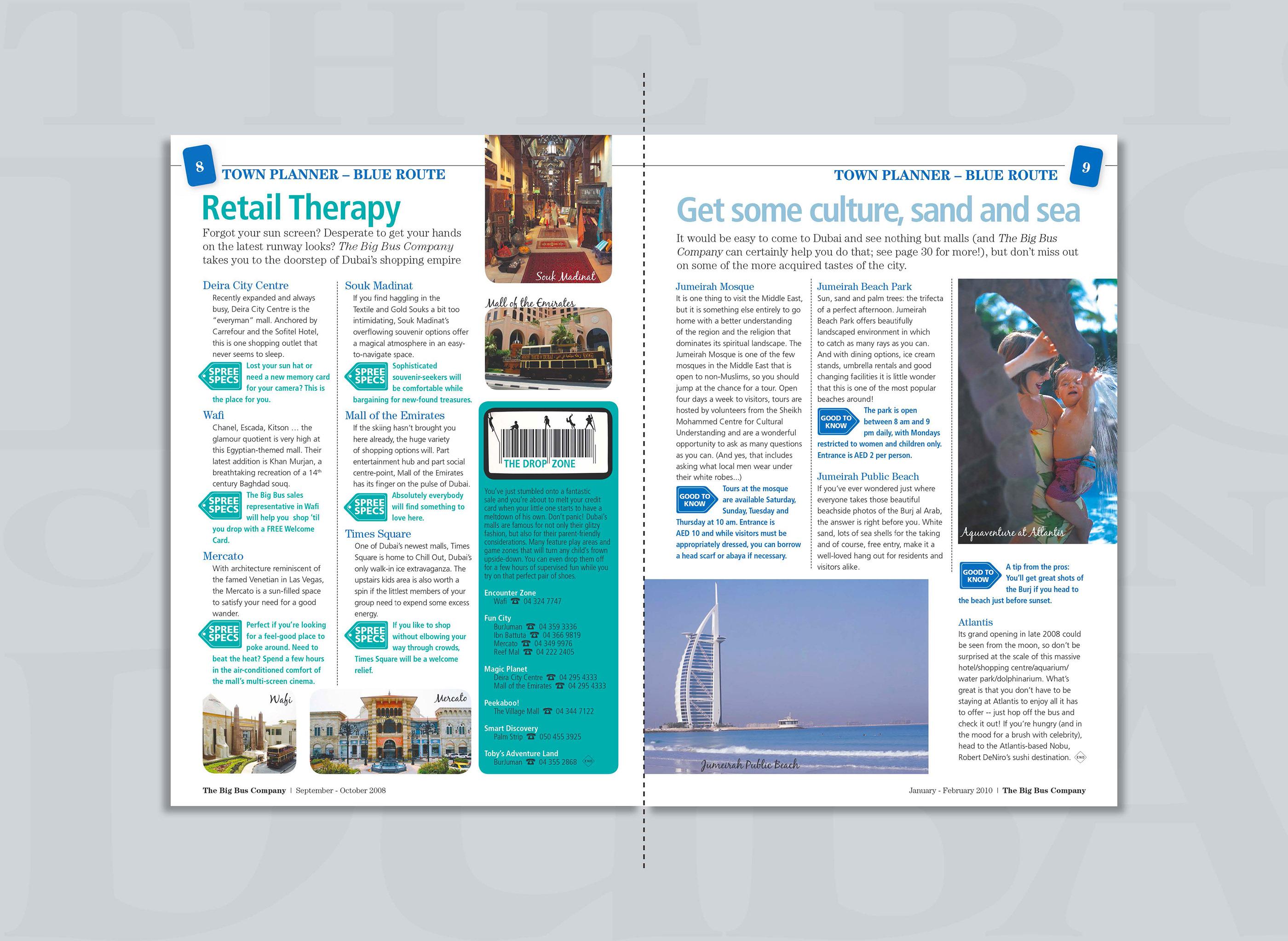 The BigBus Company Dubai - Publication on Behance