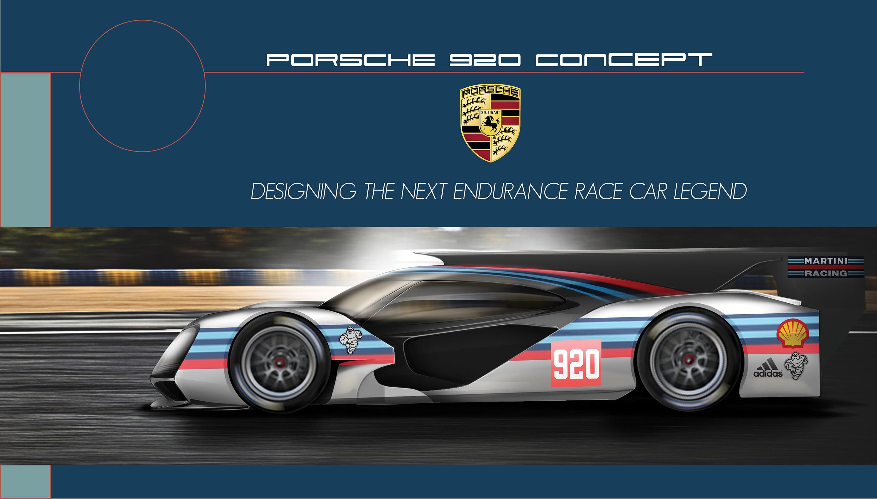 Porsche 920 Concept On Behance