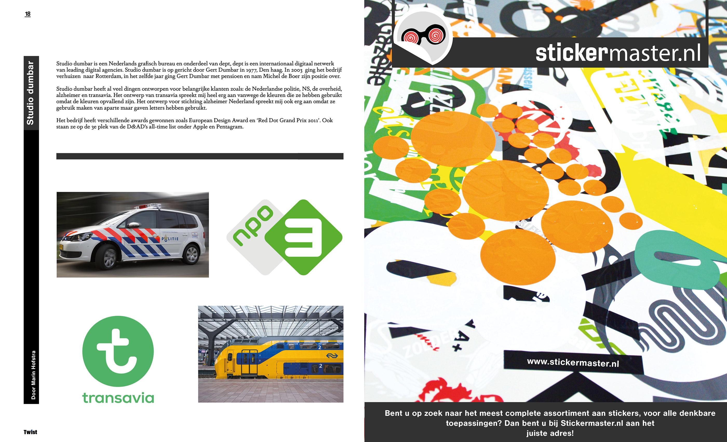 Bureau Design Gebruikt.Magazine Twist On Behance