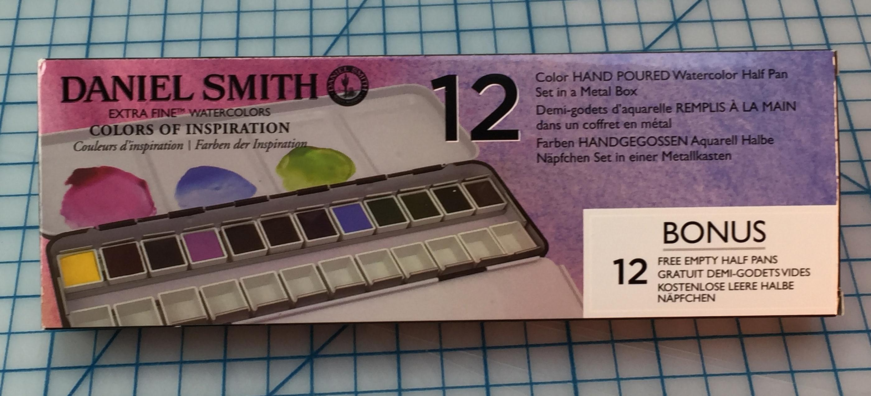 Daniel Smith RedOrange 12 Pan
