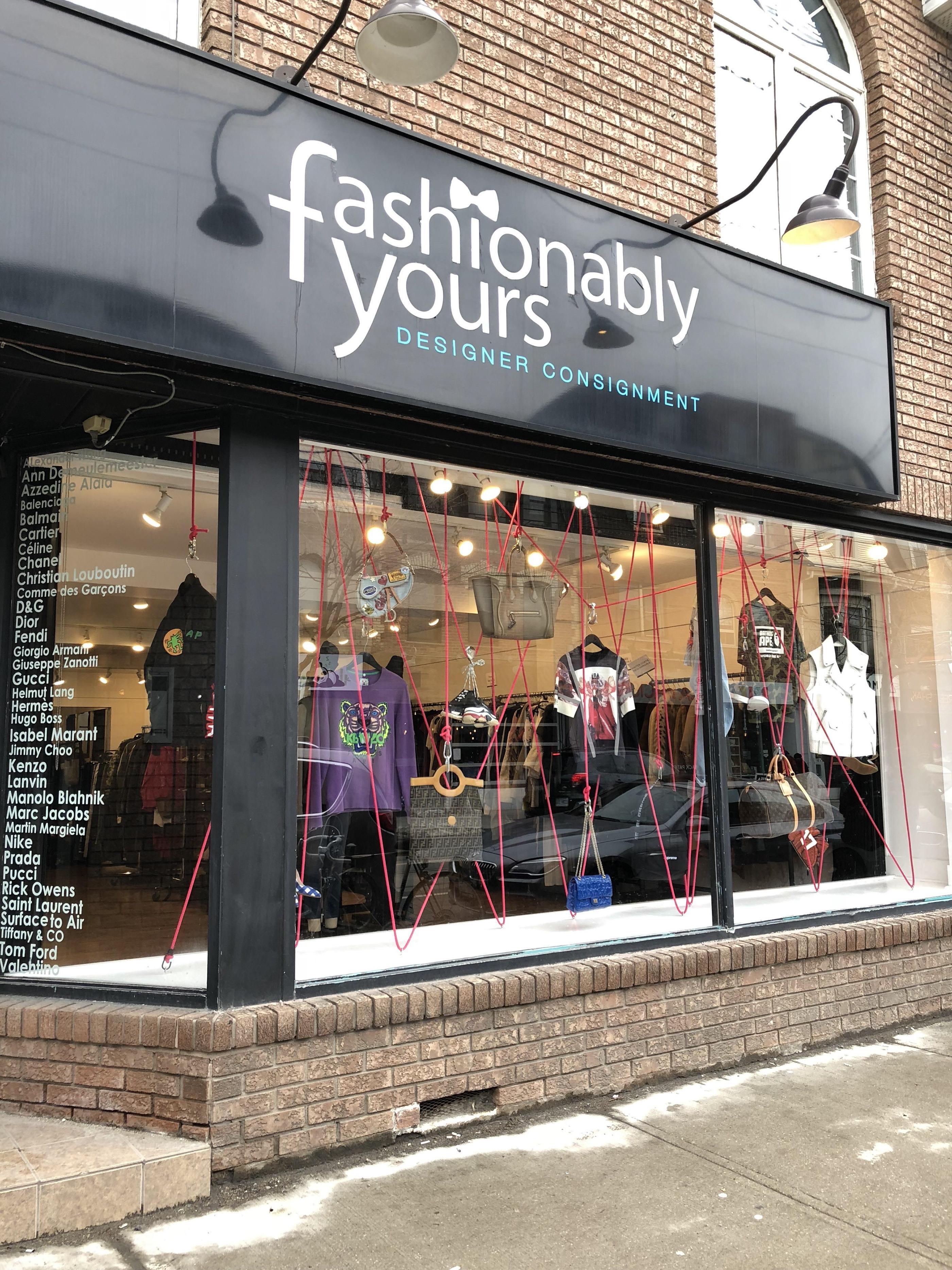 Windows Fashionably Yours Toronto On Behance