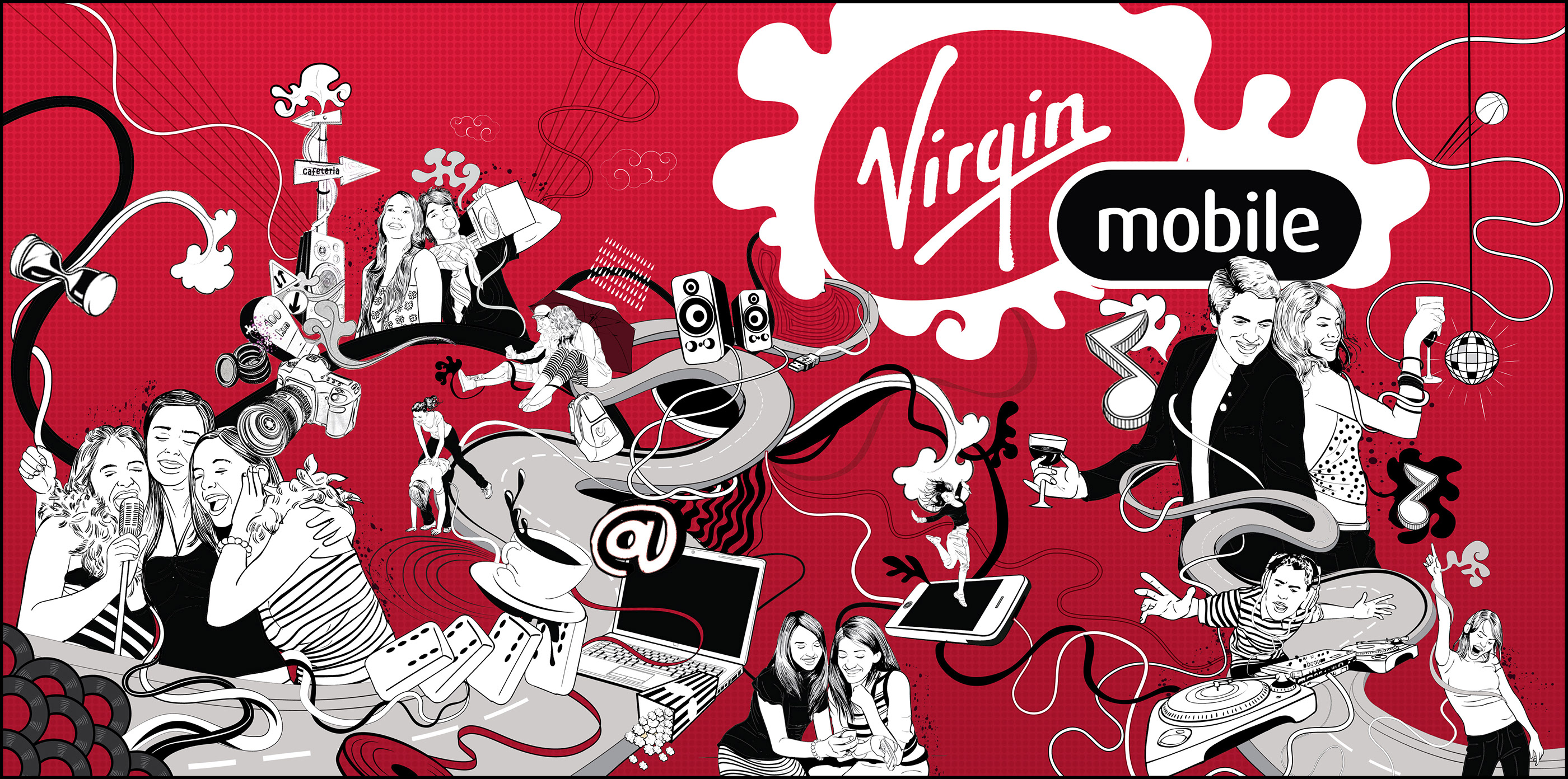 Lg tribute lands on virgin mobile