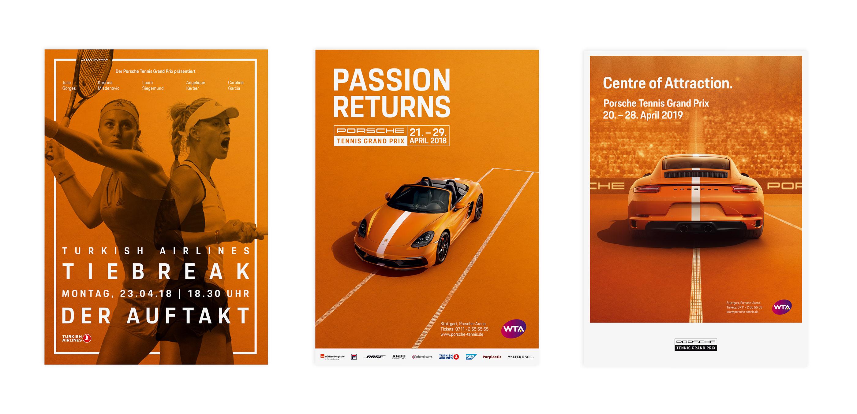 Porsche Tennis Grand Prix Event Vermarktung On Behance