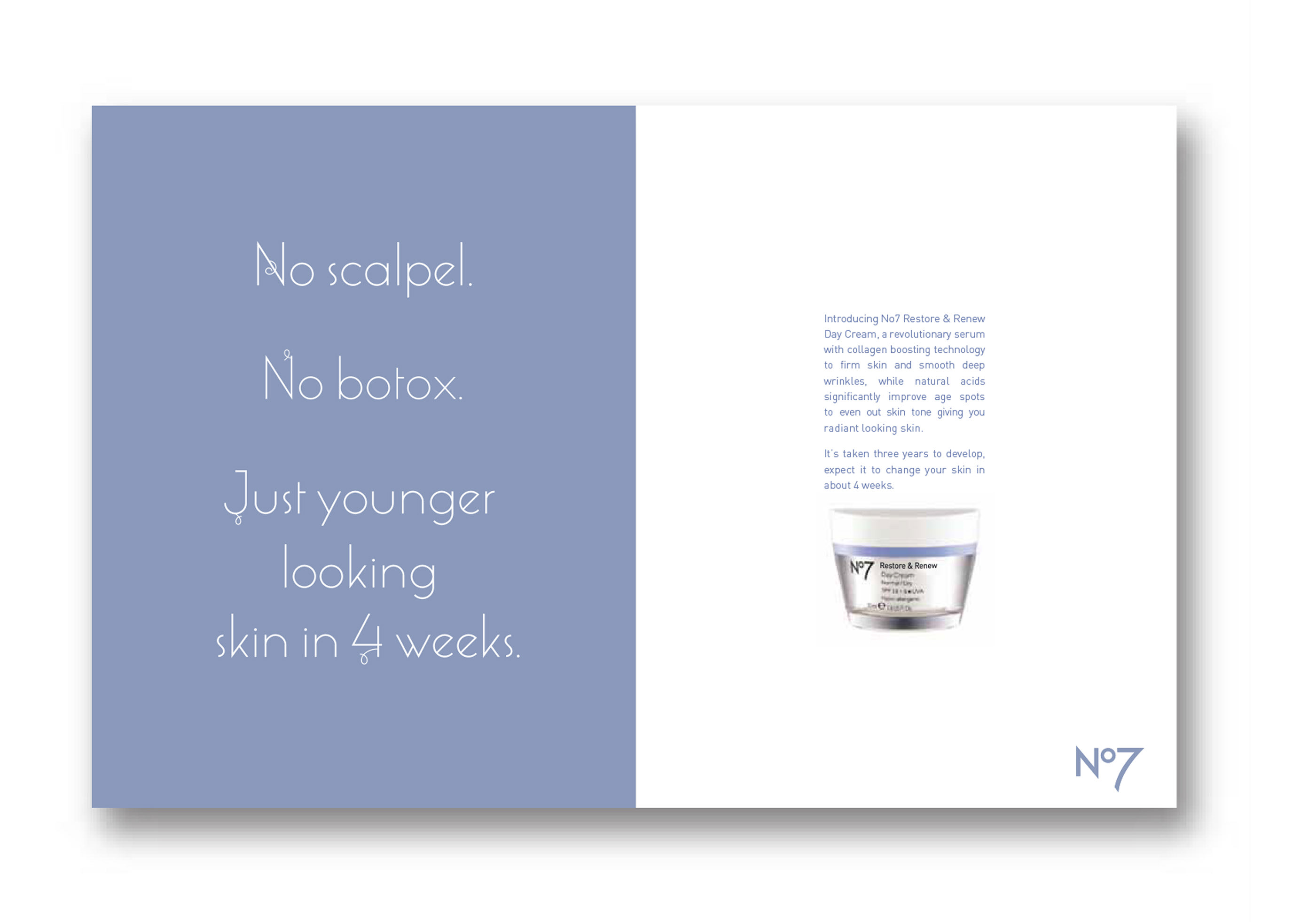 No 7 - skin care on Behance