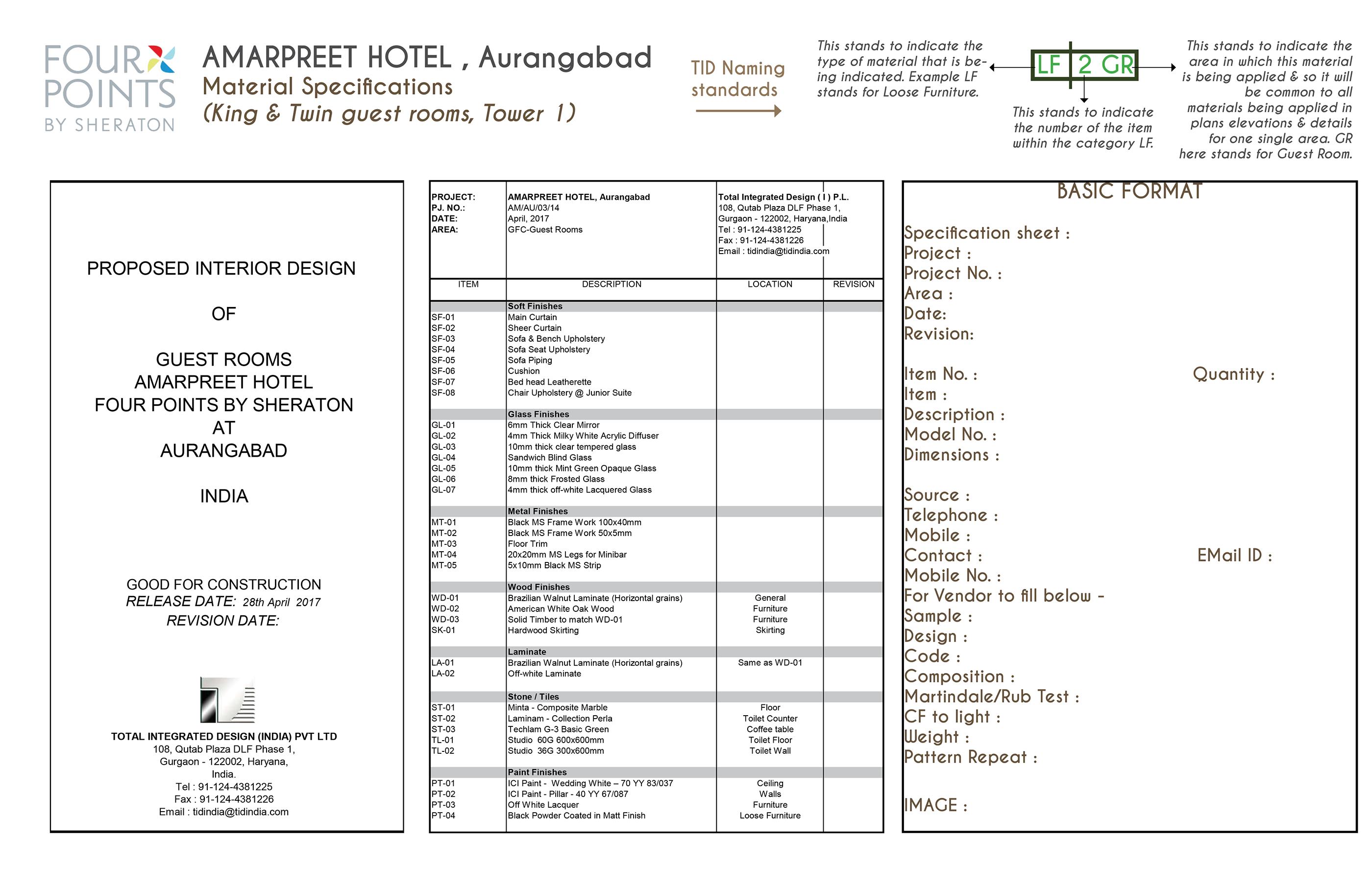 Internship Report : Total Integrated Design (16 weeks) on Behance