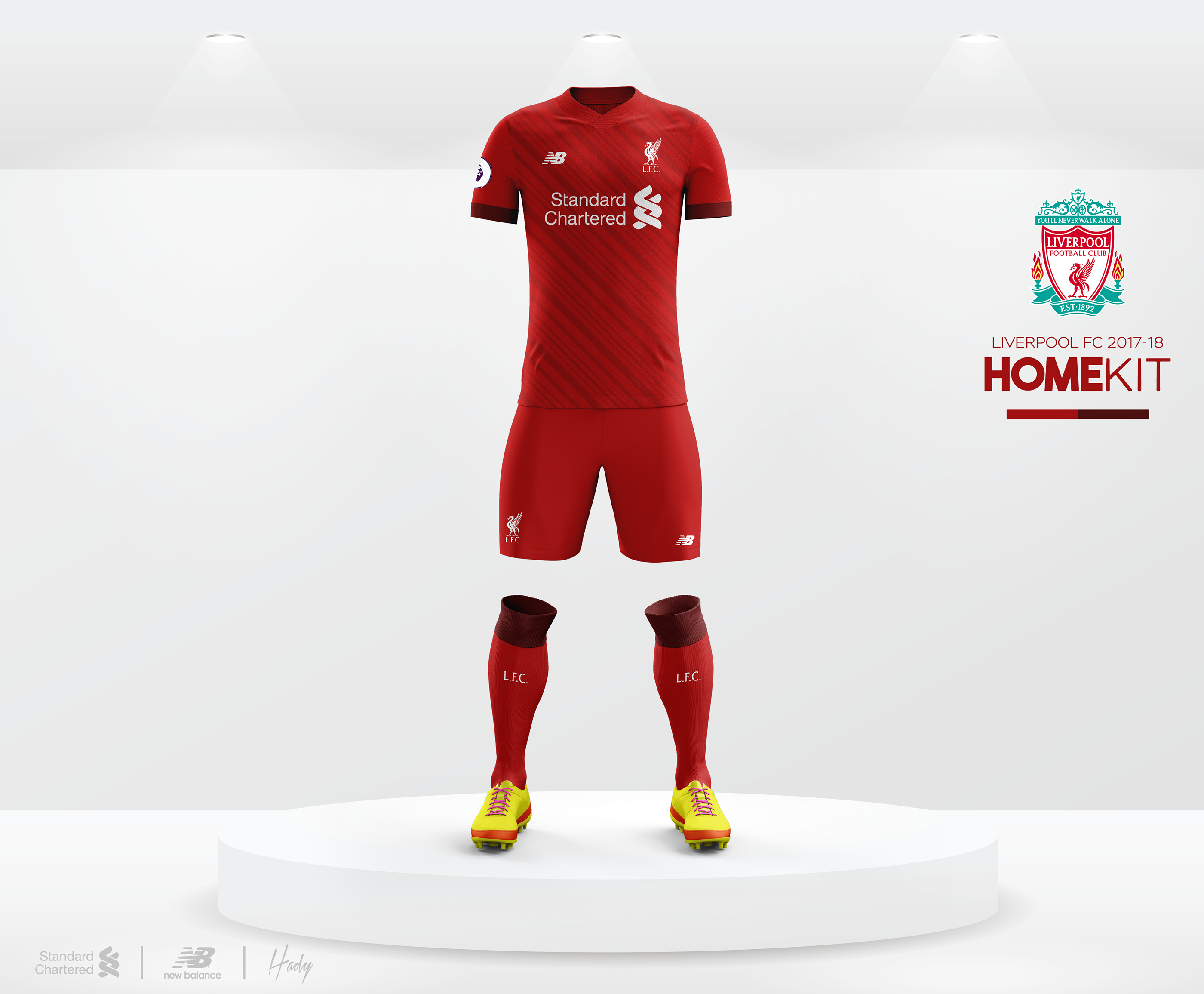 1265051b8 Liverpool FC 2017-18 Kits Concept. on Behance