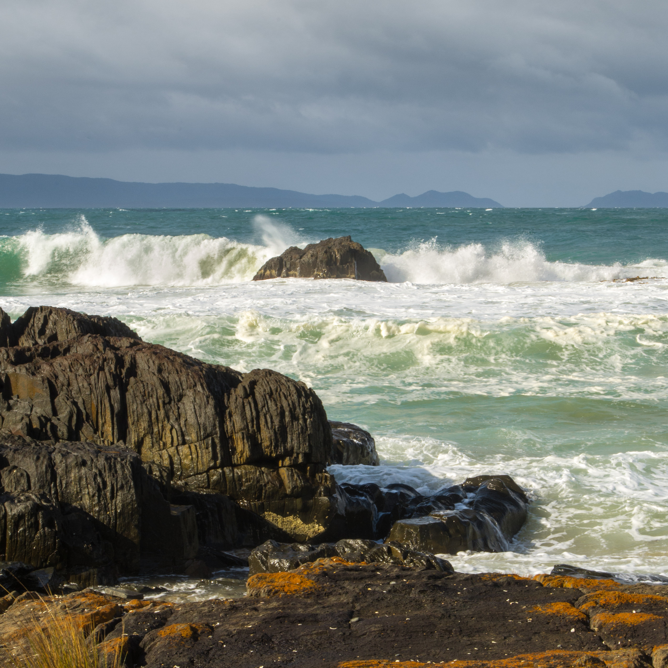 Crashing Waves At Spiky Beach Part Ii On Behance