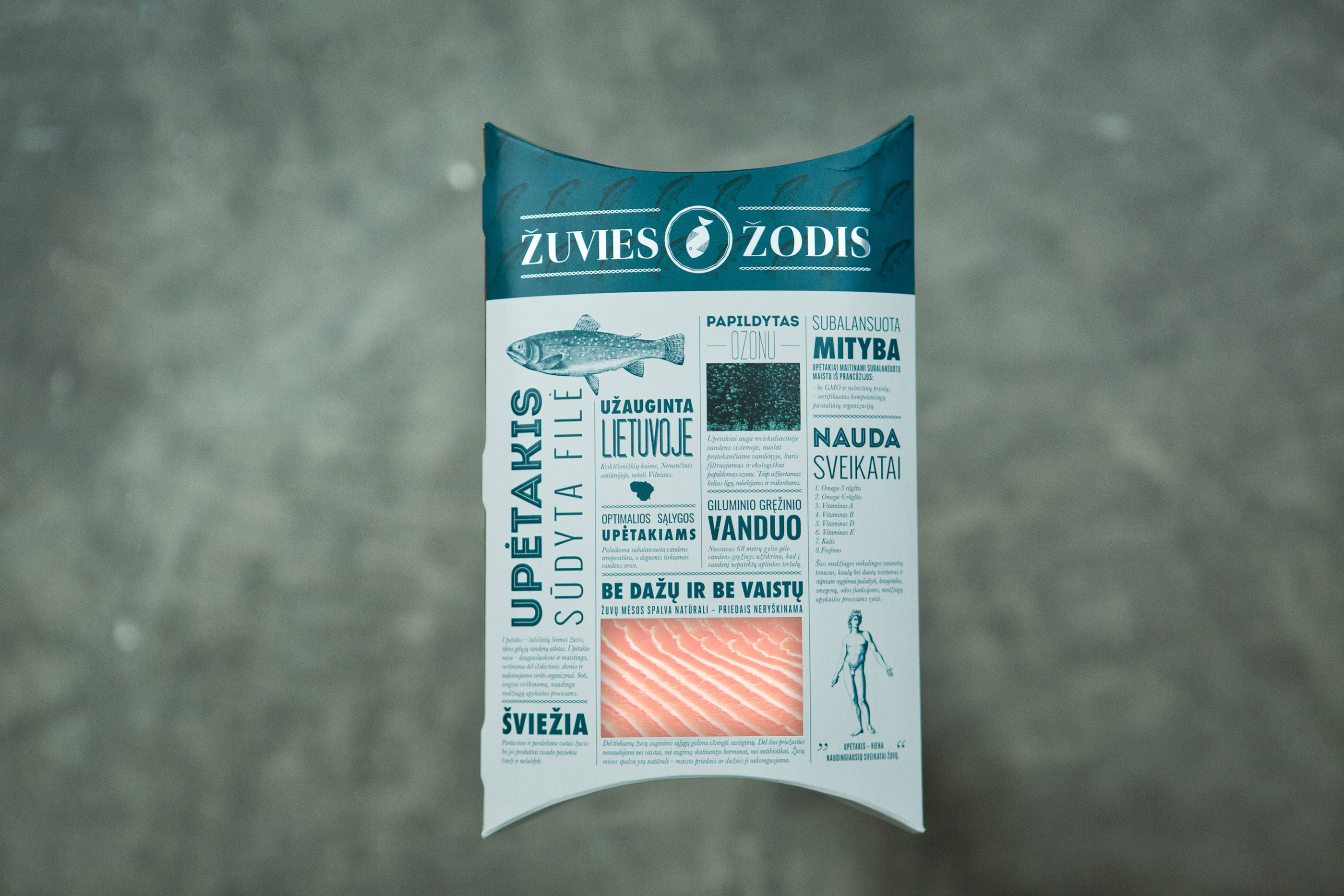 Fish packaging on Behance
