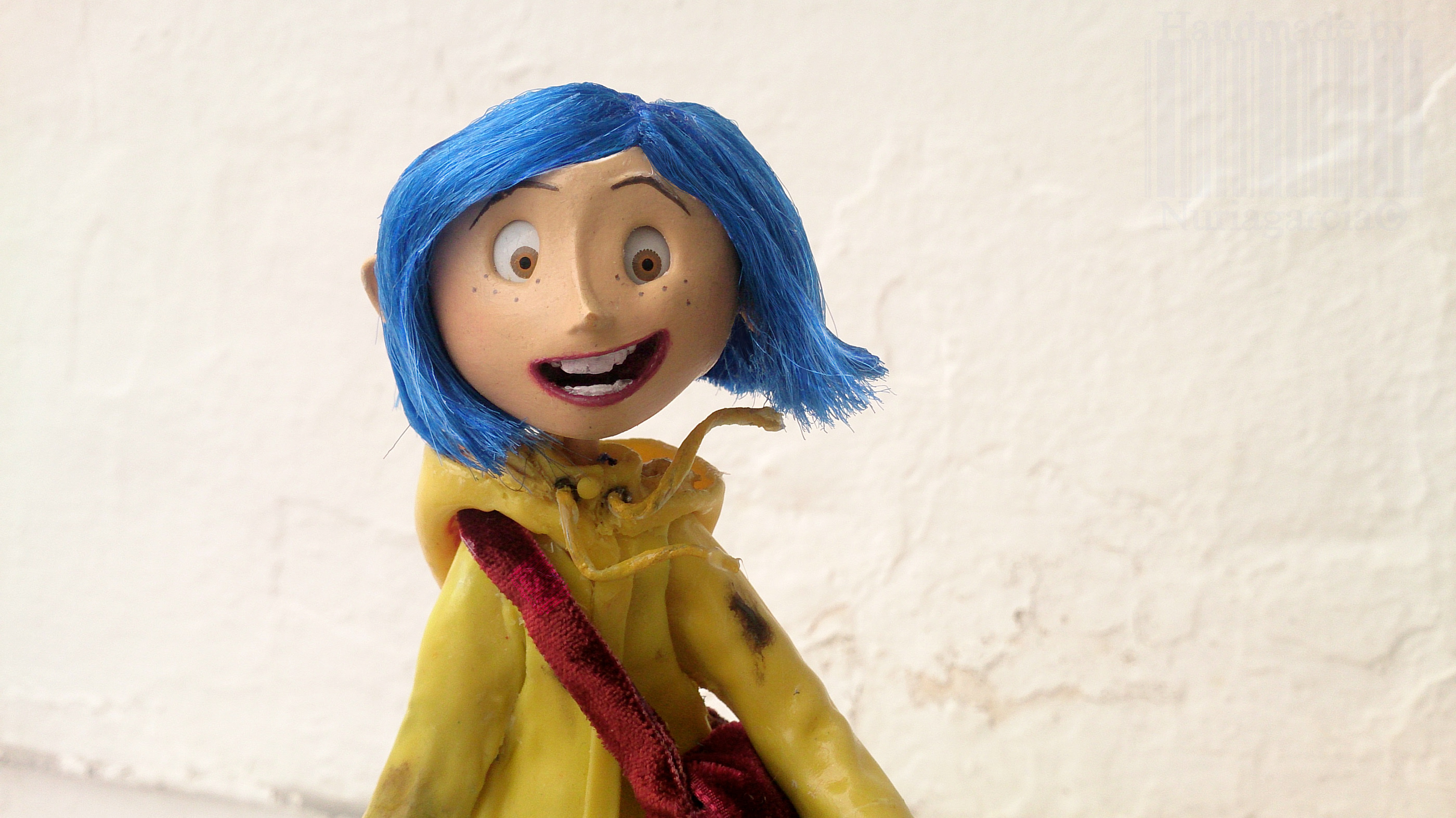 Handmade Customized Coraline By Nuria Garcia On Behance