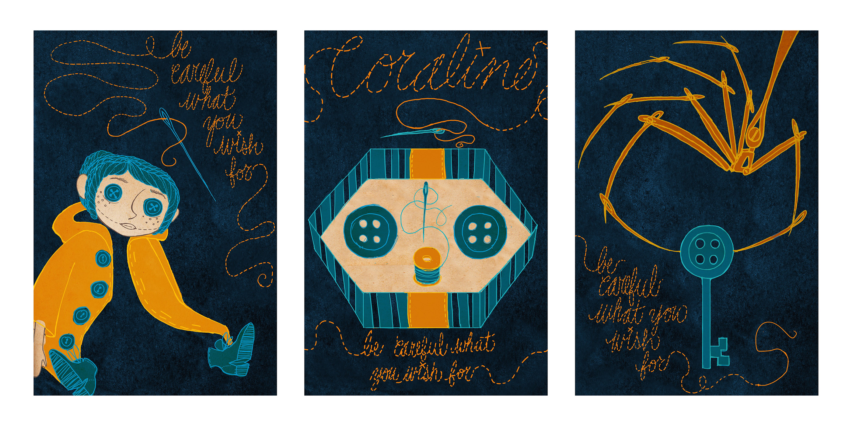 Coraline Movie Posters On Behance