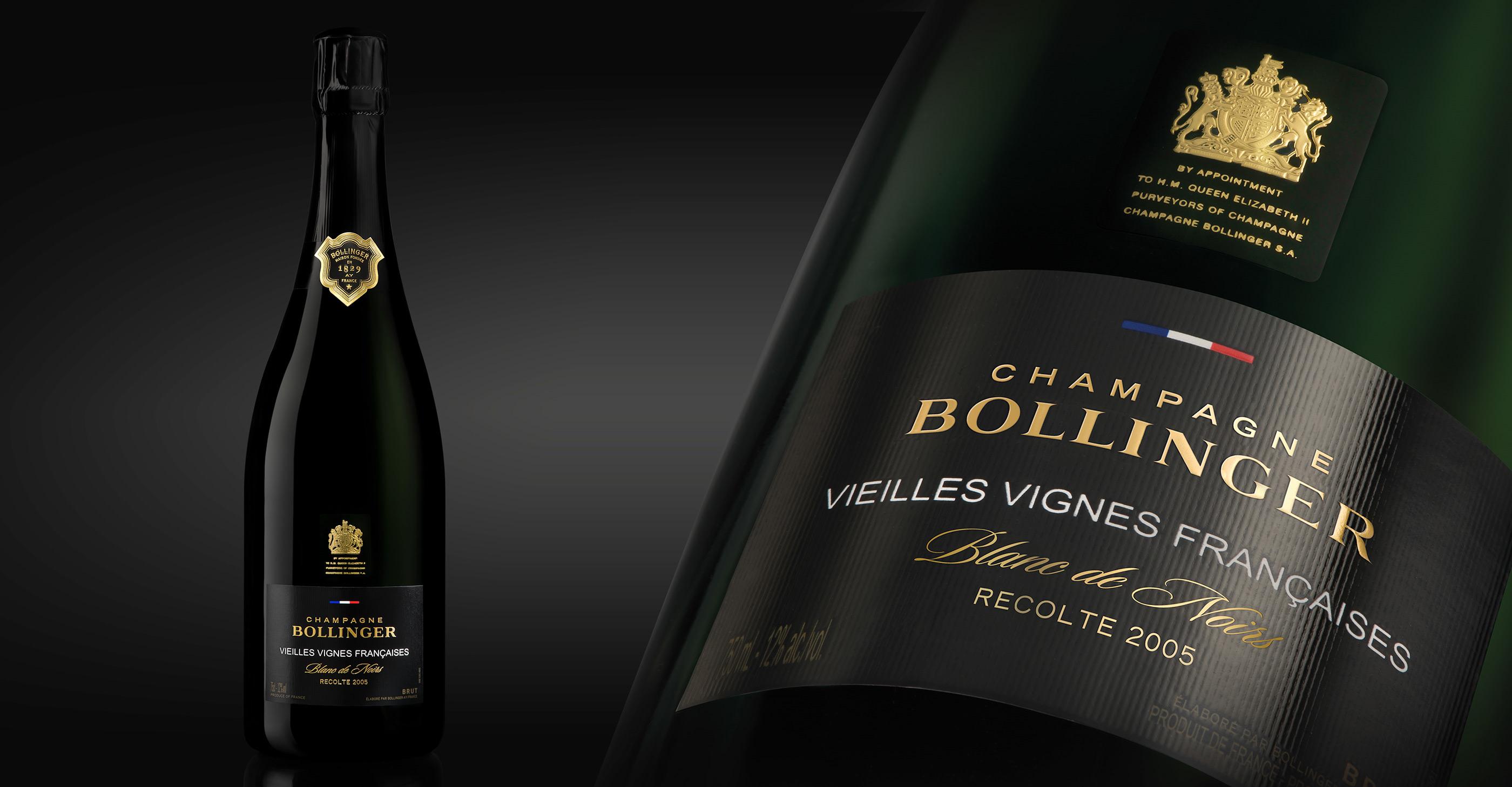 Champagne Bollinger - Vieilles vignes françaises 2005 on Behance